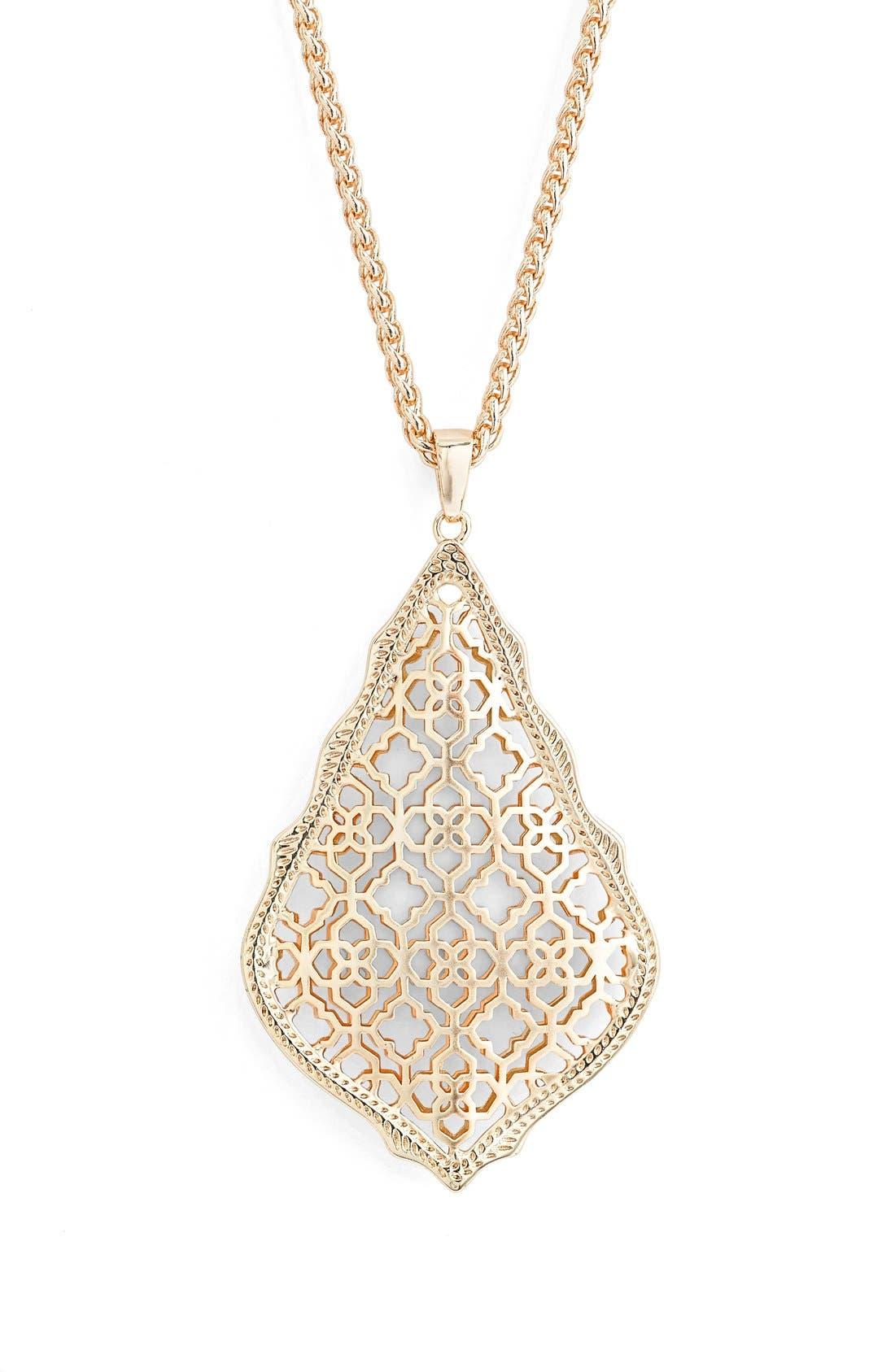 Alternate Image 2  - Kendra Scott 'Aiden' Pendant Necklace