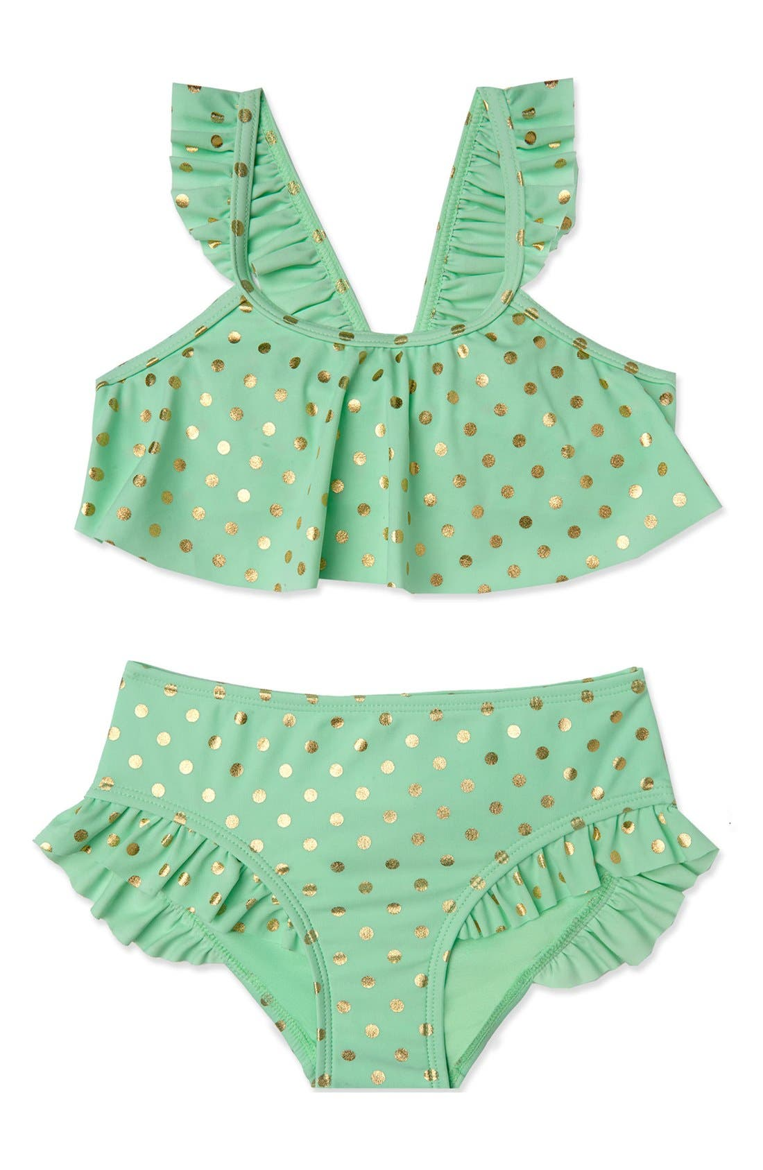 Hula Star 'Milkshake' Two-Piece Swimsuit (Toddler Girls & Little Girls)