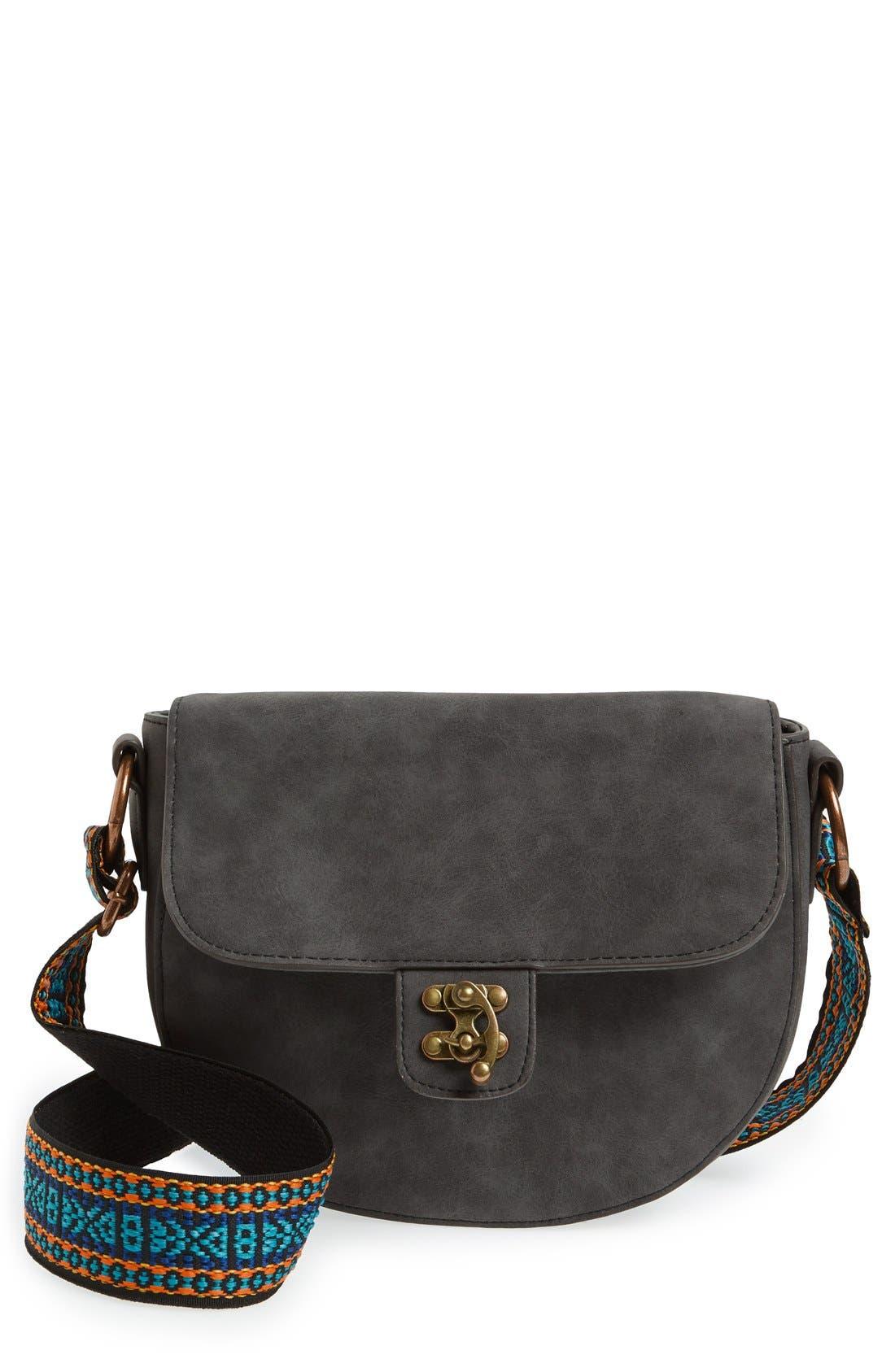 Alternate Image 1 Selected - Elle & Jae Gypset 'Marrakesh' Faux Suede Crossbody Bag