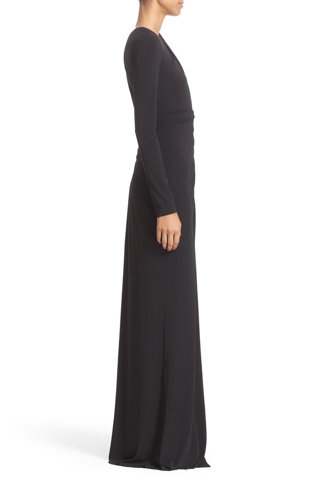 Alternate Image 5  - Alexander Wang Draped Asymmetrical One-Sleeve Gown