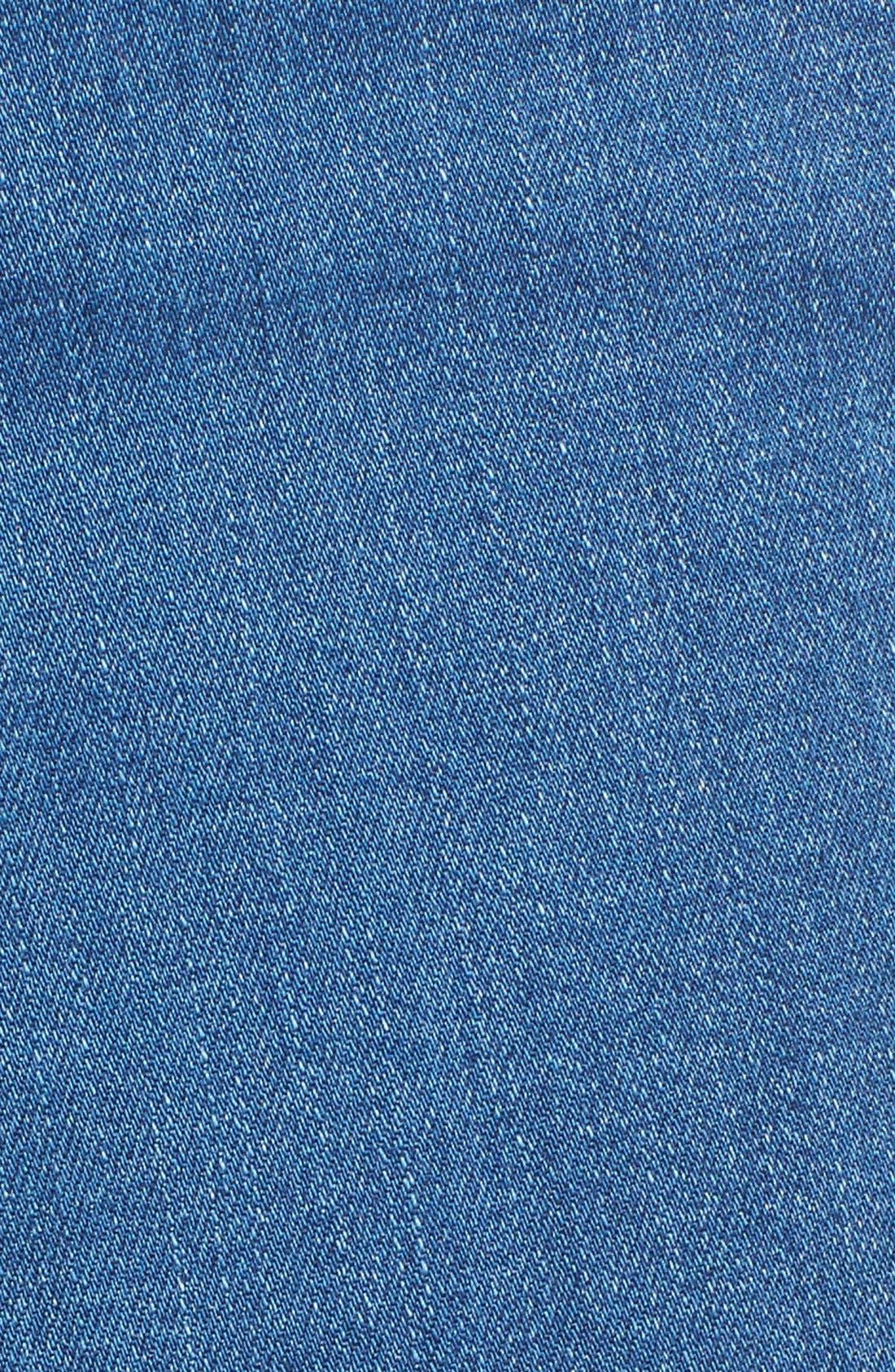 Alternate Image 6  - Olivia Palermo + Chelsea28 High Rise Flare Jeans (Mode Lt Rinse)