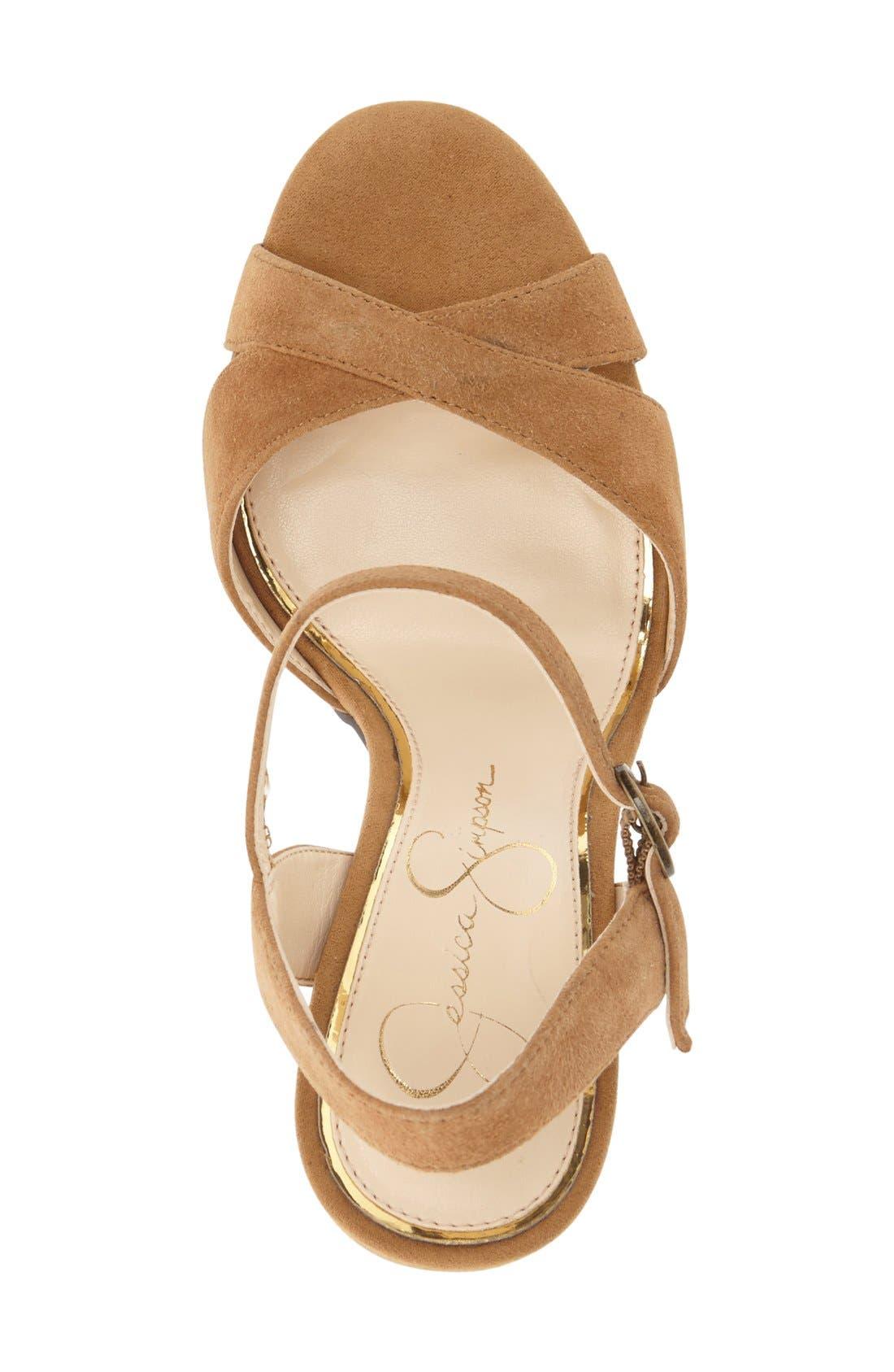 Alternate Image 3  - Jessica Simpson 'Naidine' Platform Sandal (Women)