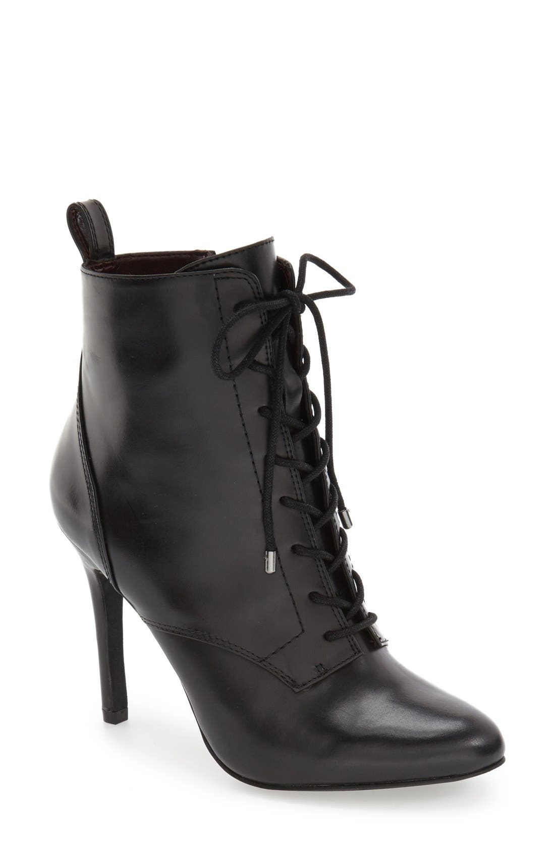 Alternate Image 1 Selected - BCBGeneration 'Banx' Lace-Up Bootie (Women)