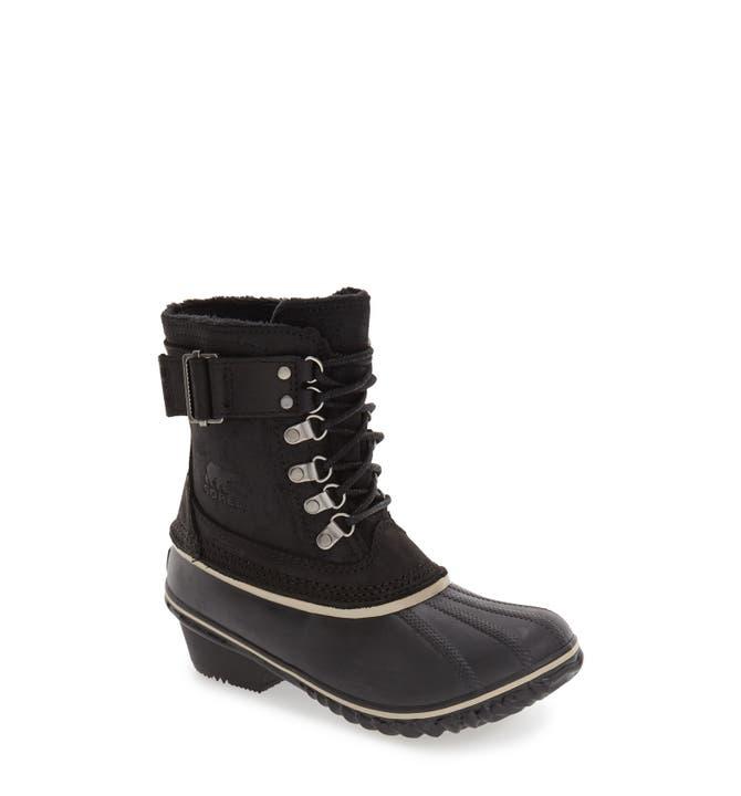 SOREL 'Winter Fancy II' Waterproof Lace-Up Boot (Women) | Nordstrom