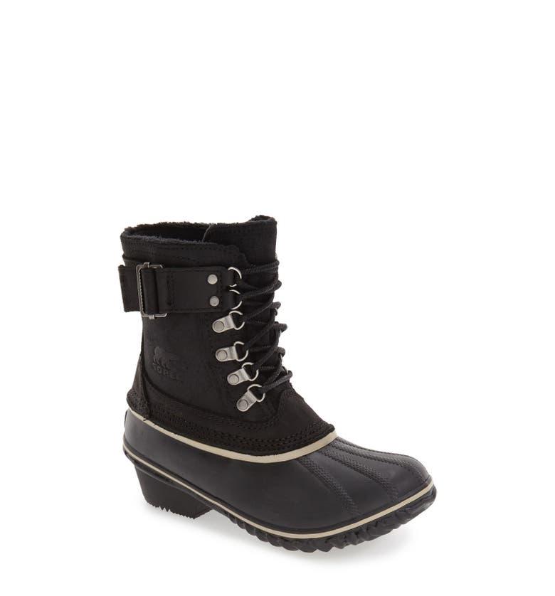 Sorel Winter Fancy Ii Waterproof Lace Up Boot Women