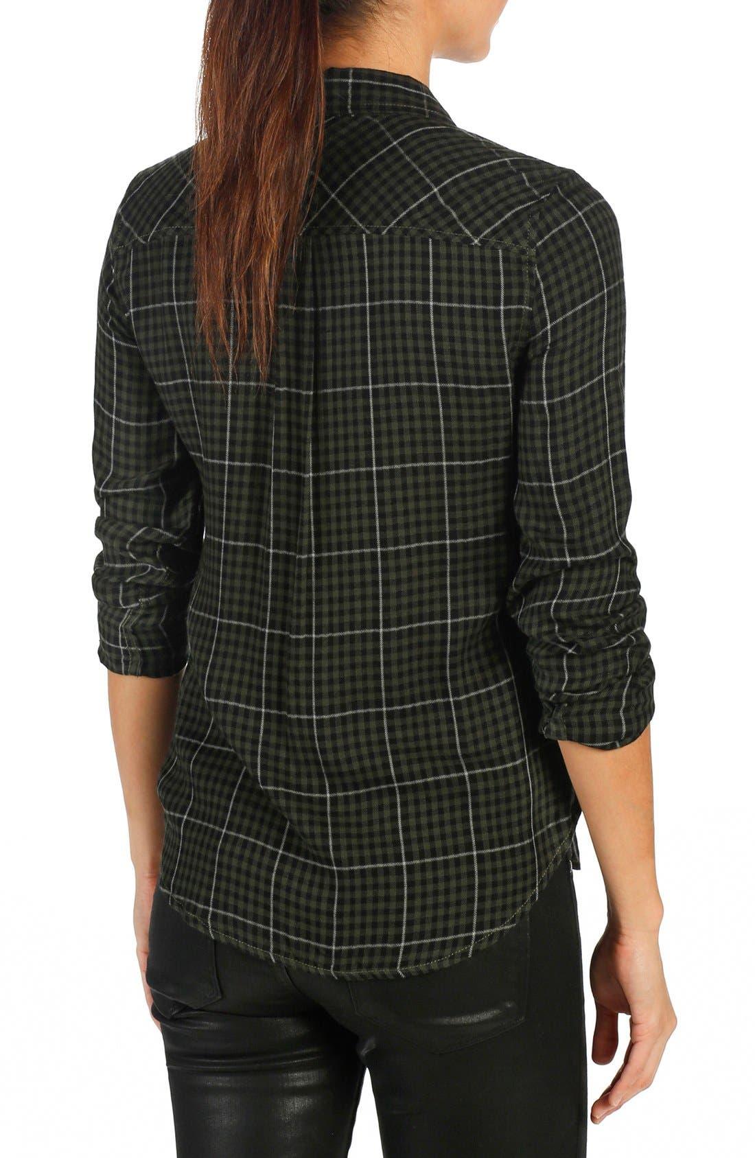 Alternate Image 2  - PAIGE 'Mya' Plaid Shirt