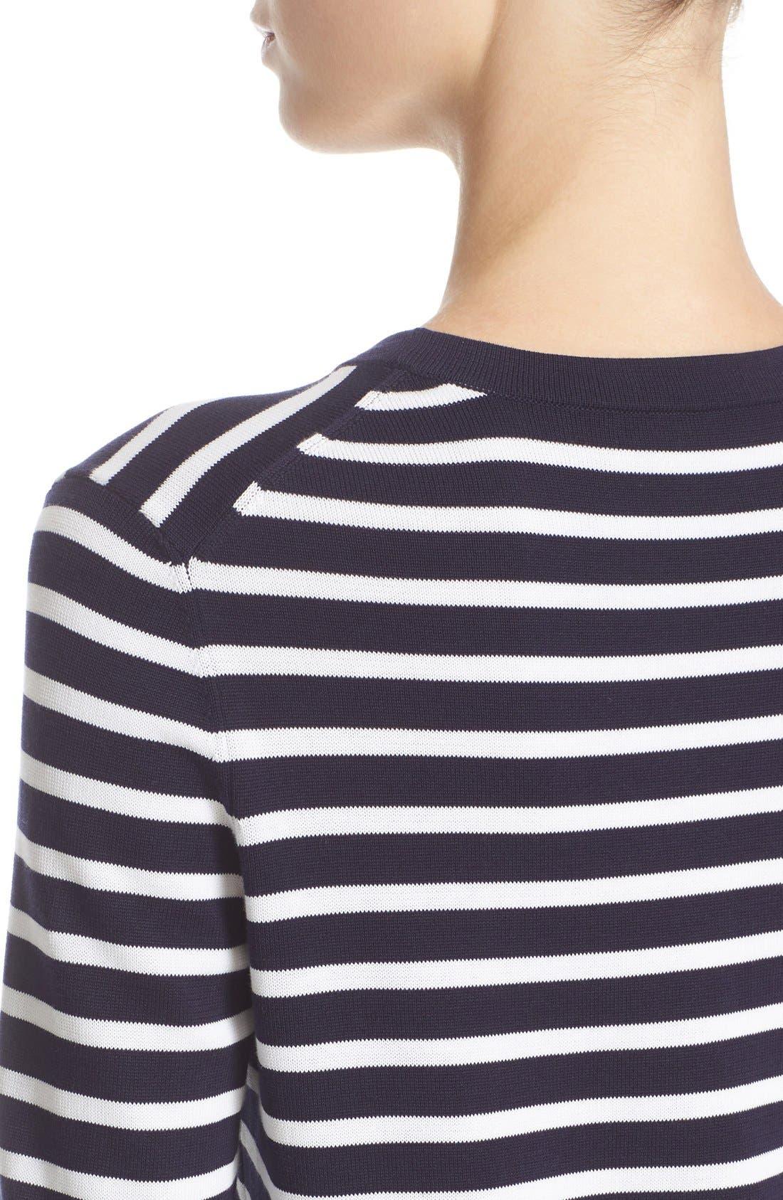 Alternate Image 6  - Michael Kors Stripe T-Shirt Dress