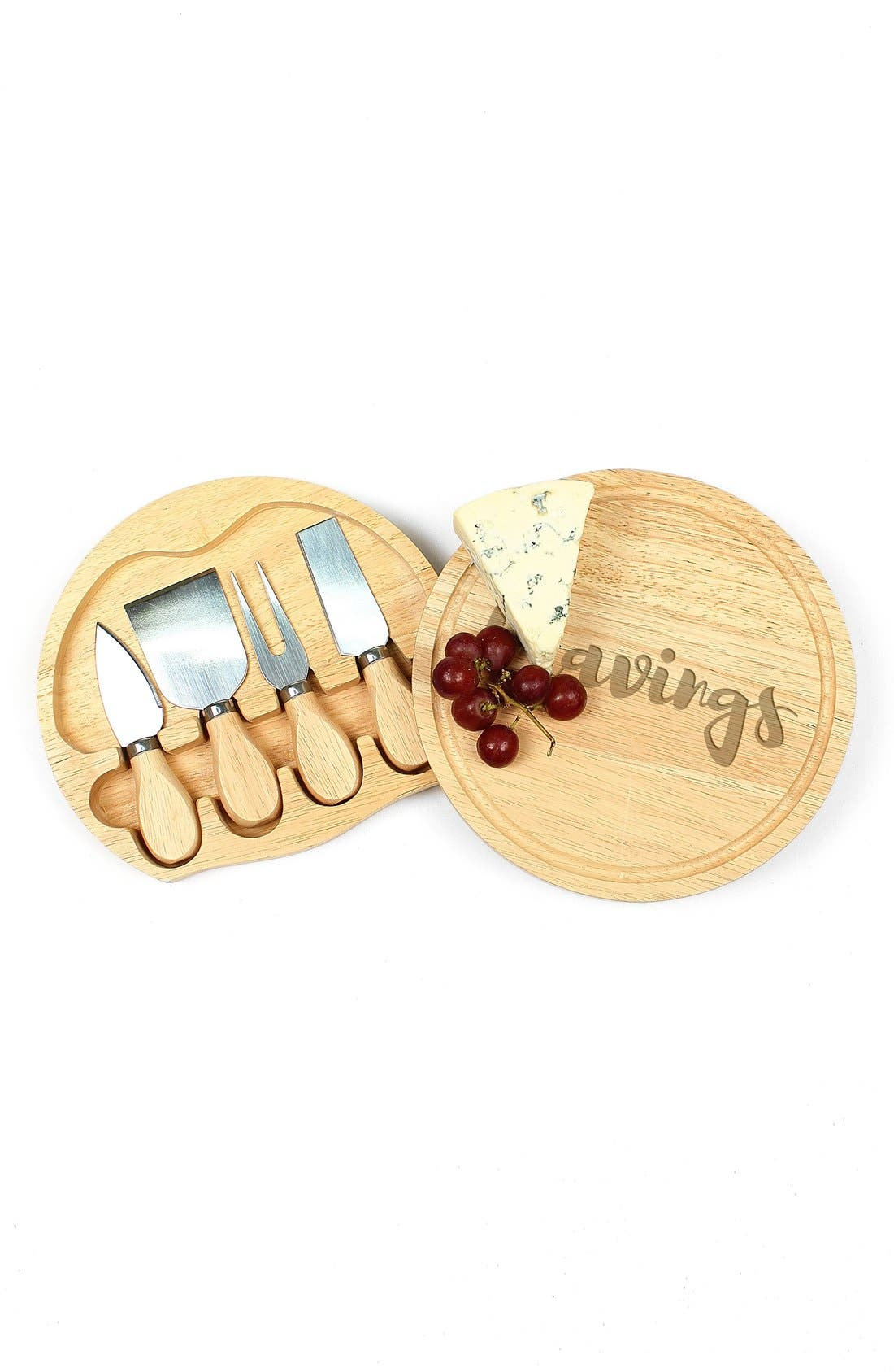 Alternate Image 3  - Cathy's Concepts 'Cravings' 5-Piece Cheese Board & Utensil Set
