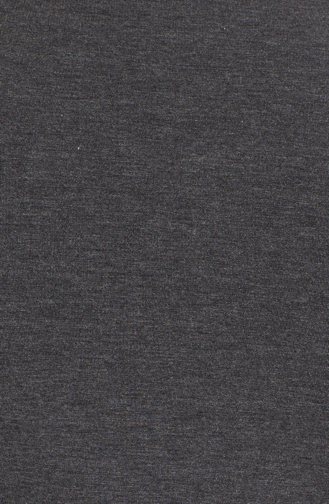 Alternate Image 5  - Splendid Lace Trim Cold Shoulder Tee