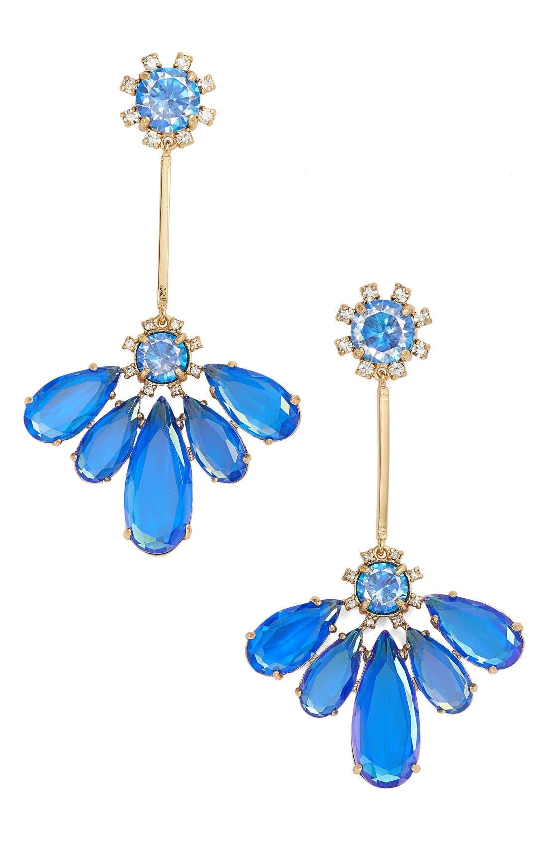 Alternate Image 1 Selected - kate spade new york 'color crush' drop earrings