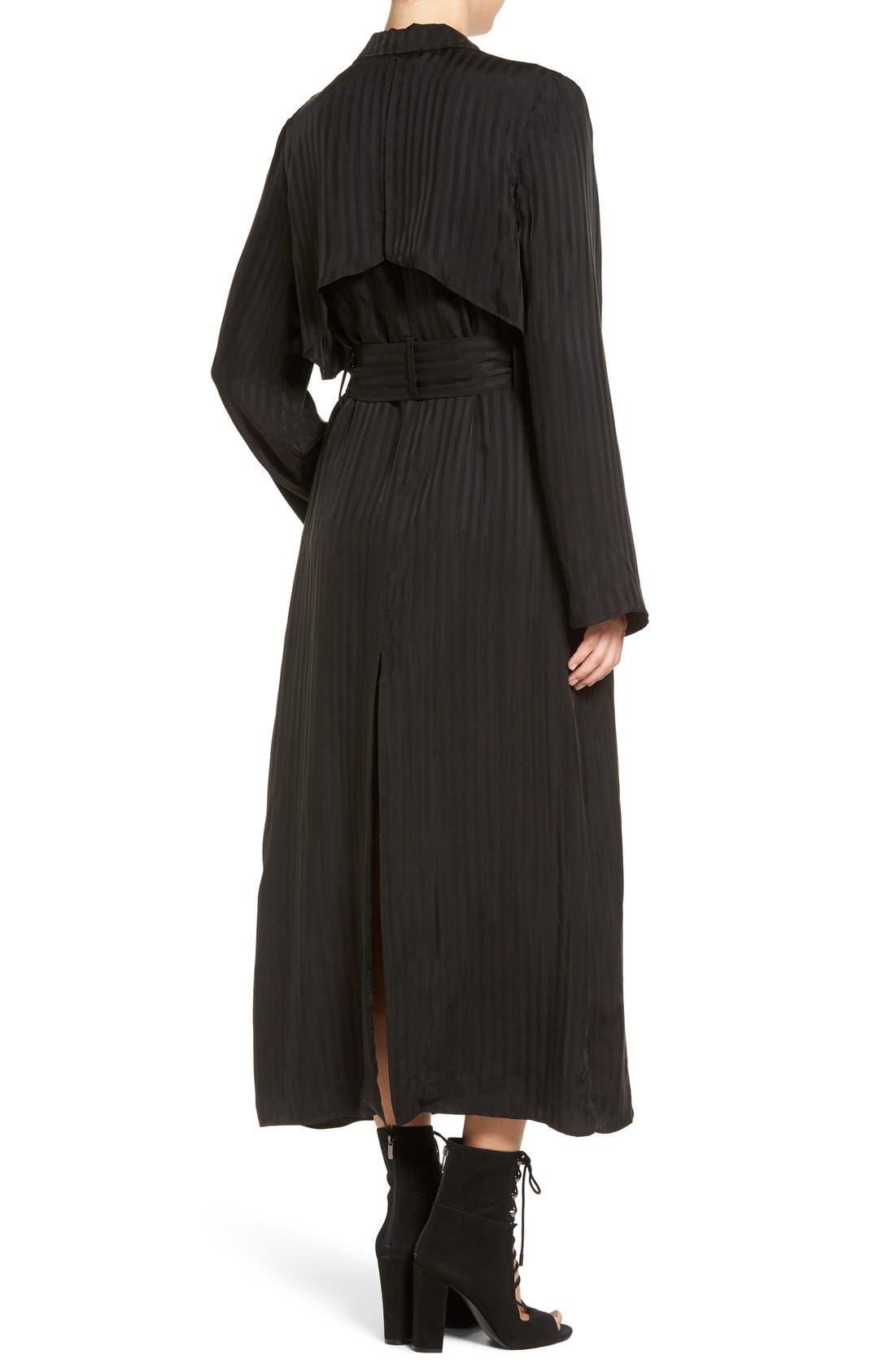 Alternate Image 2  - KENDALL + KYLIE 'Tuxedo' Long Stripe Jacket