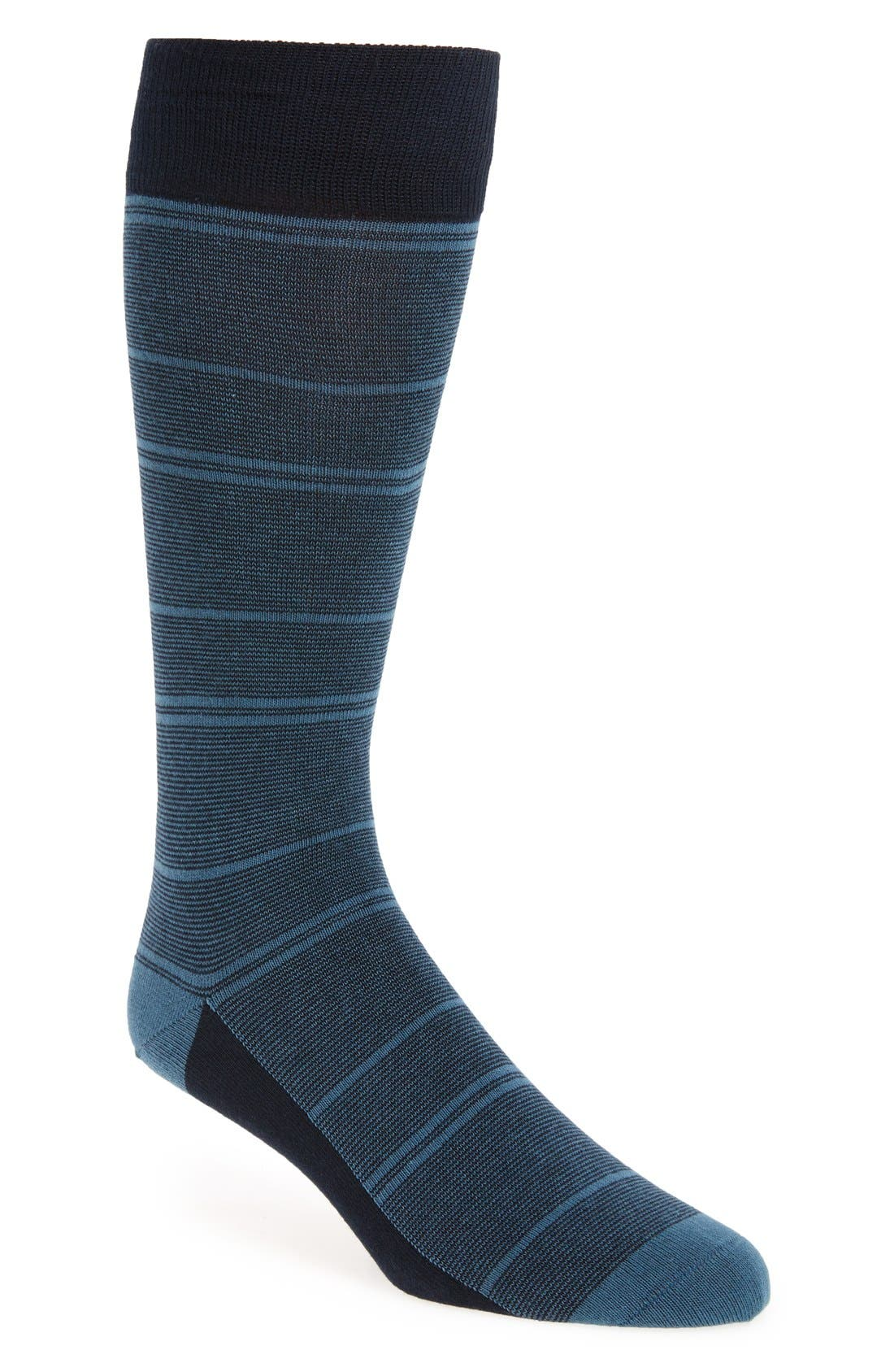 CALIBRATE 'Fine Stripe' Socks