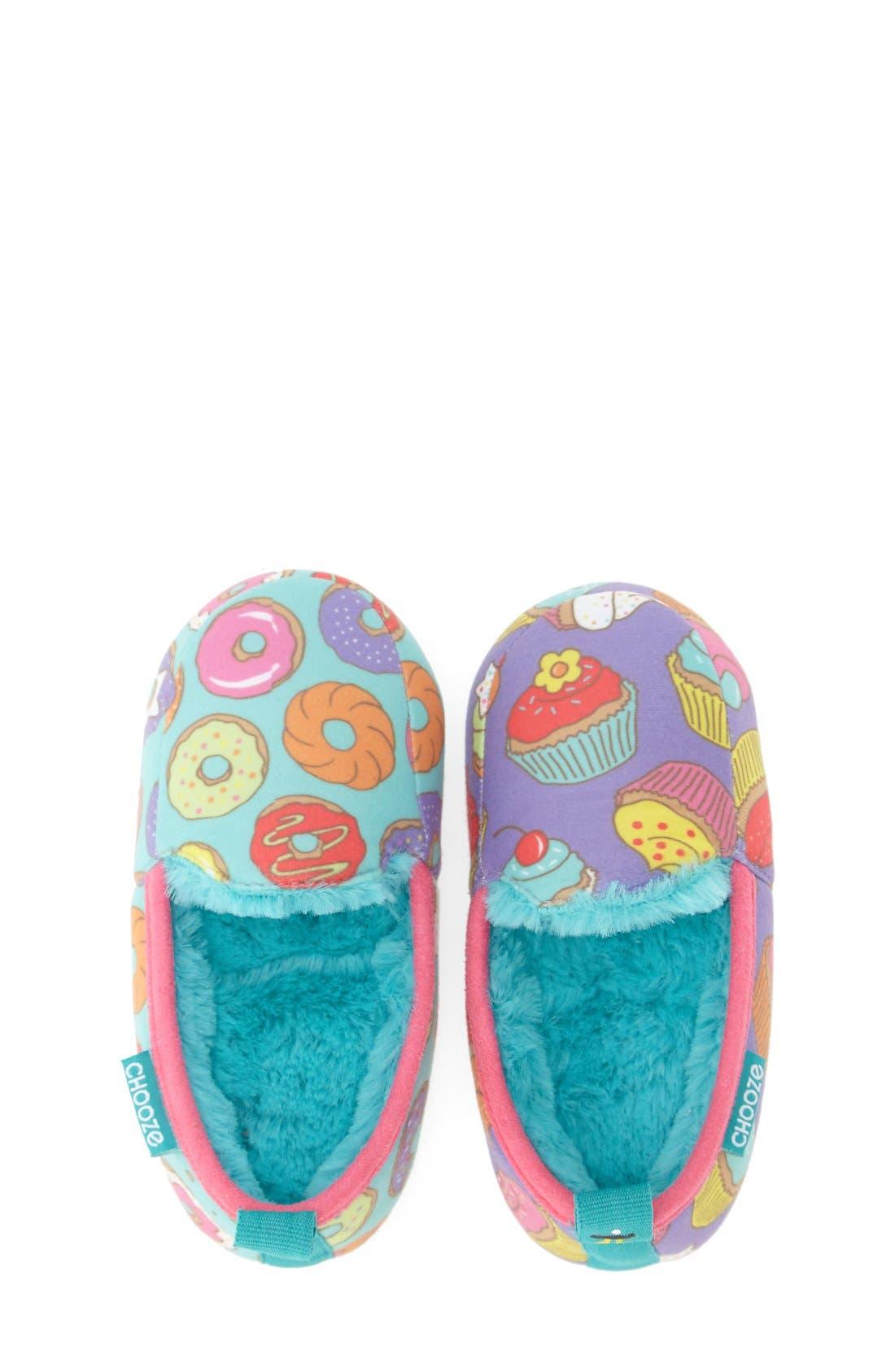 Alternate Image 3  - CHOOZE 'Slumber' Slippers (Toddler, Little Kid & Big Kid)