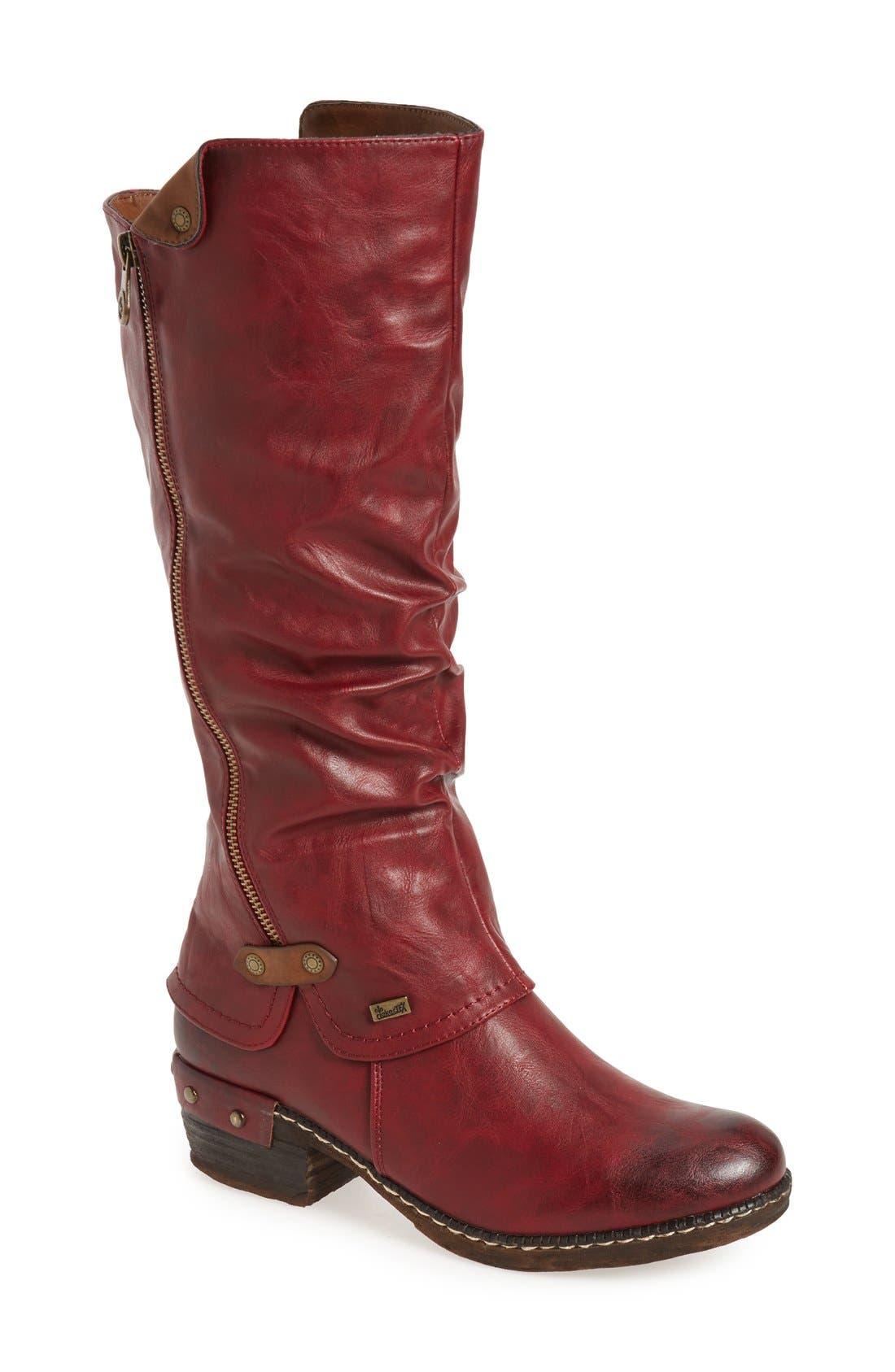 Main Image - Rieker Antistress 'Bernadette 55' Slightly Slouchy All Weather Boot (Women)