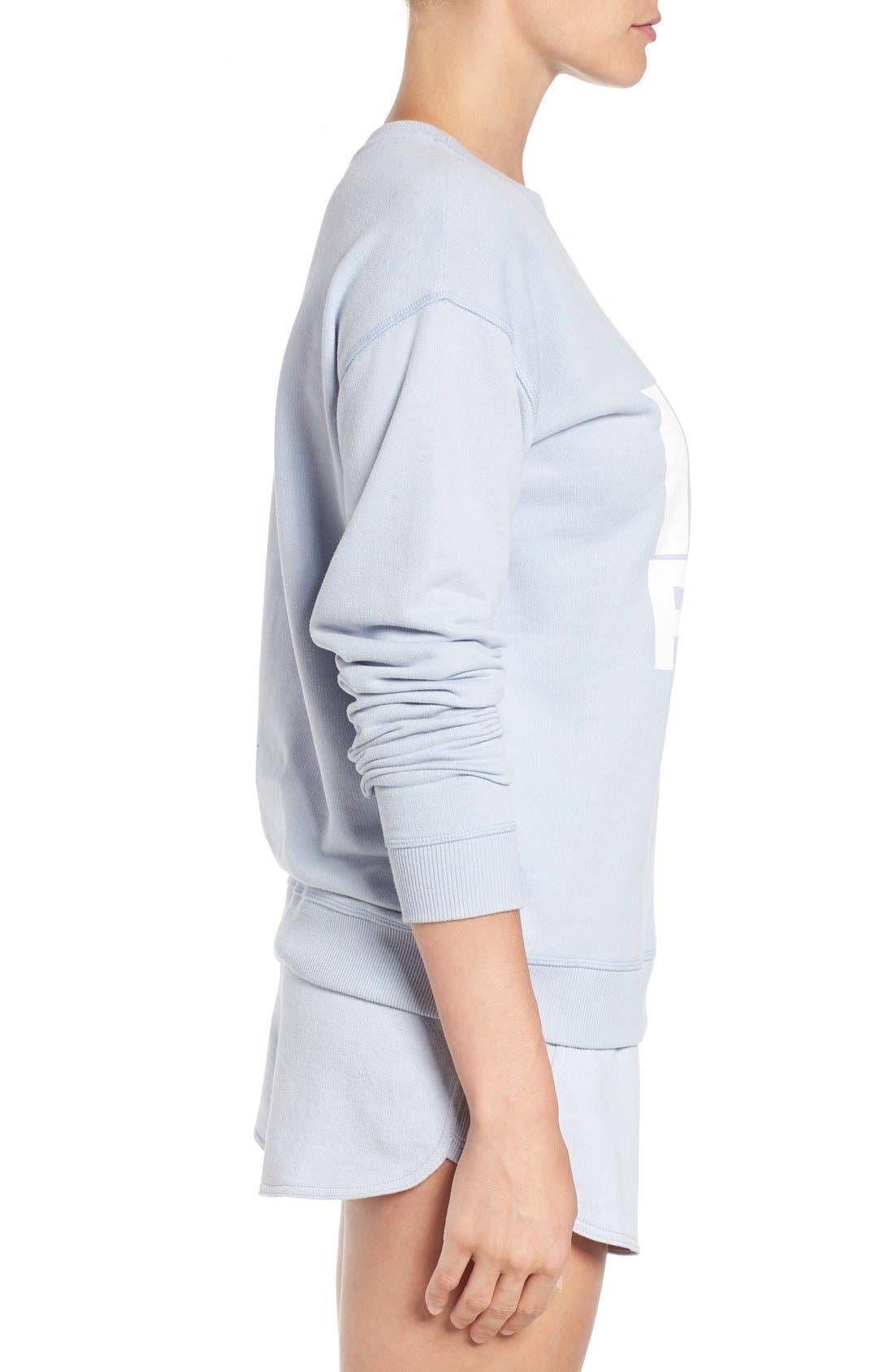 Alternate Image 3  - IVY PARK® Logo Peached Sweatshirt