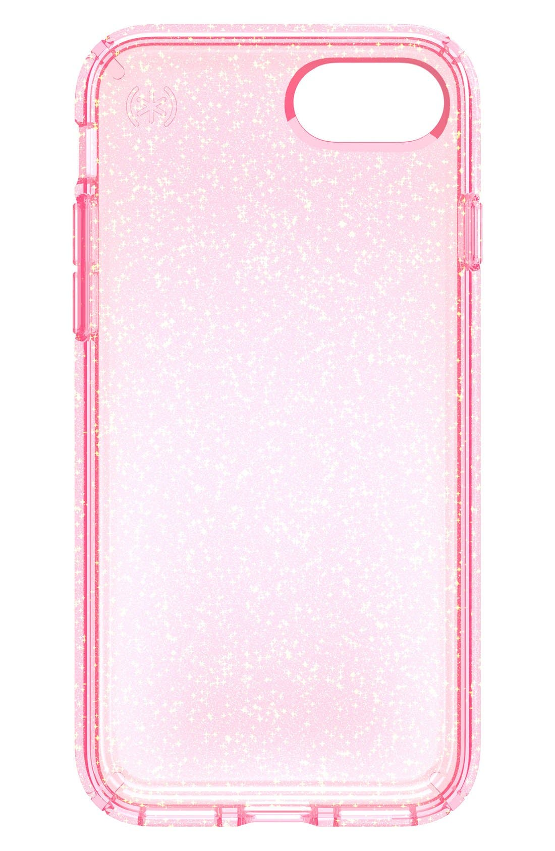 Speck Presidio Glitter Rose iPhone 7 Case