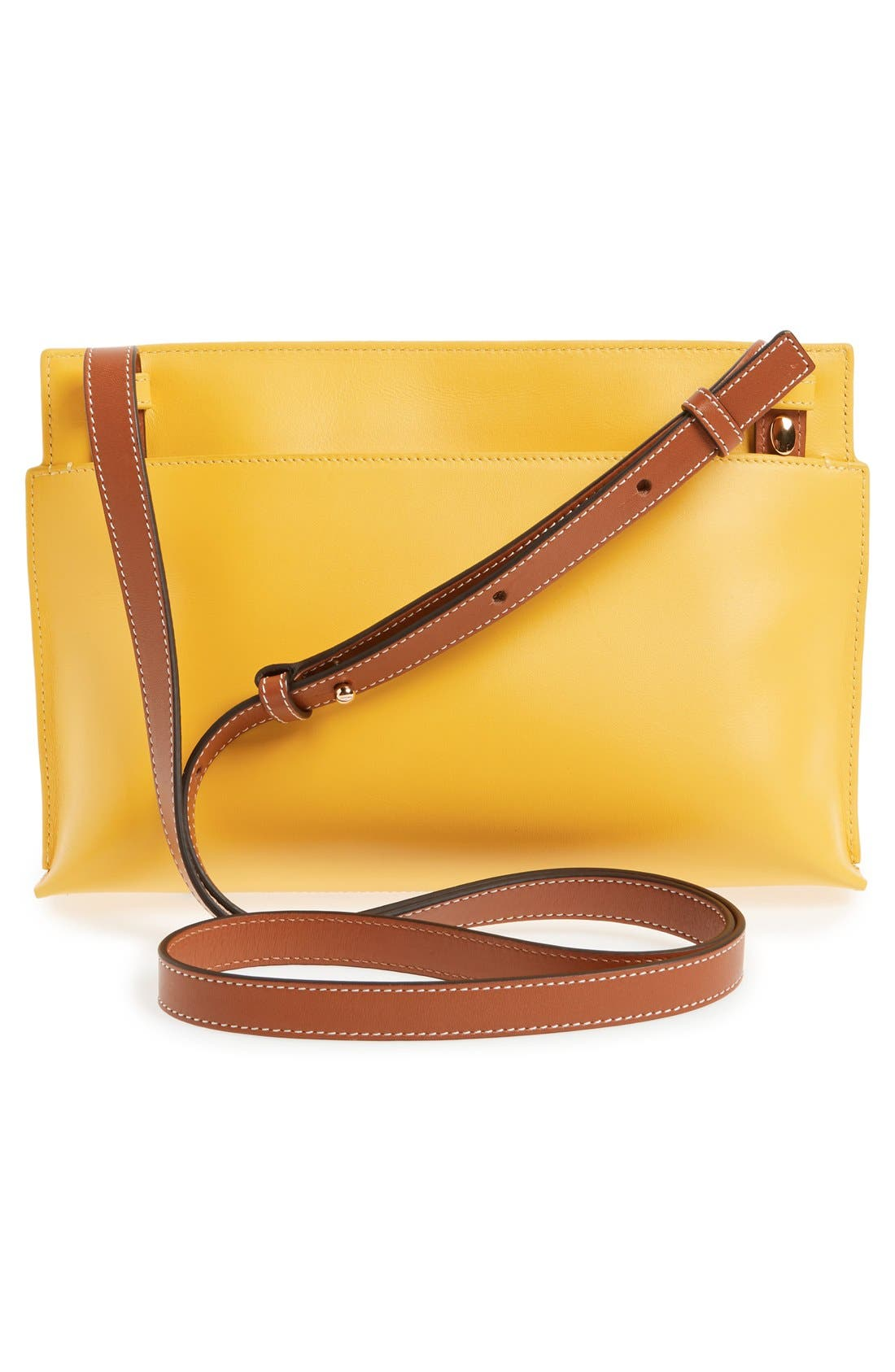 Alternate Image 3  - Loewe 'Fiore' Marquetry Calfskin Leather Crossbody Clutch
