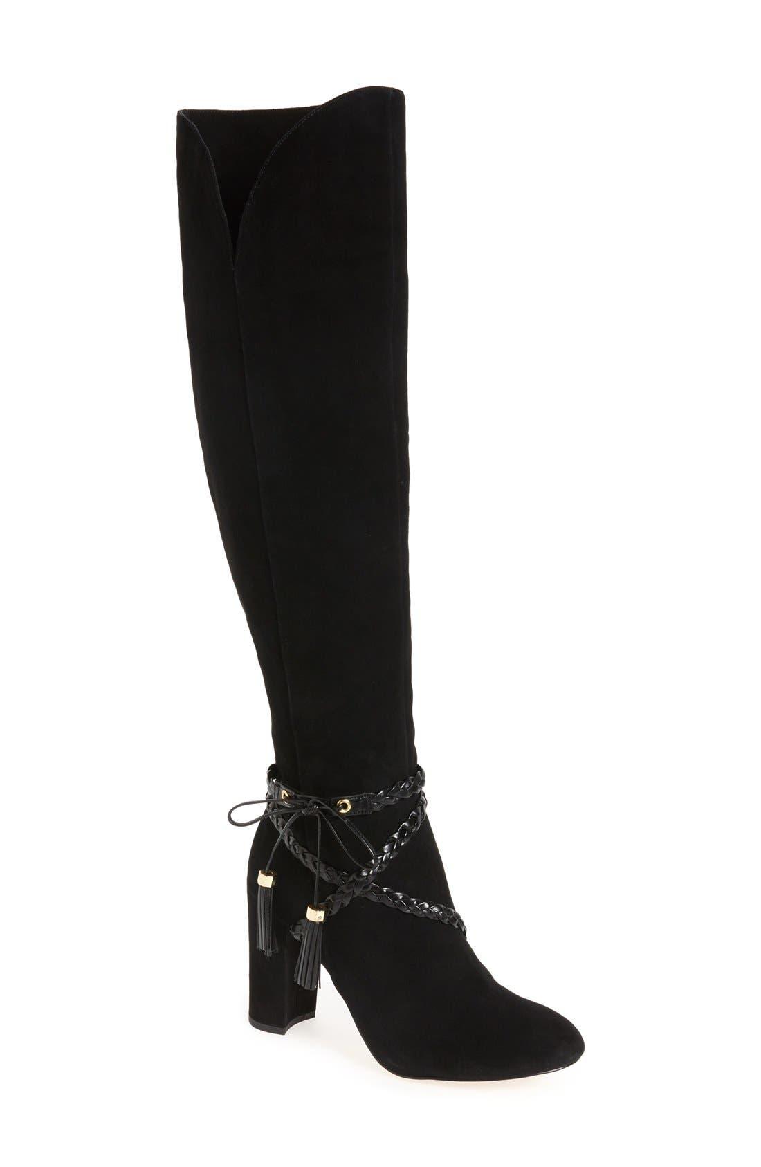 Main Image - Louise et Cie 'Tallen' Over the Knee Boot (Women) (Wide Calf)