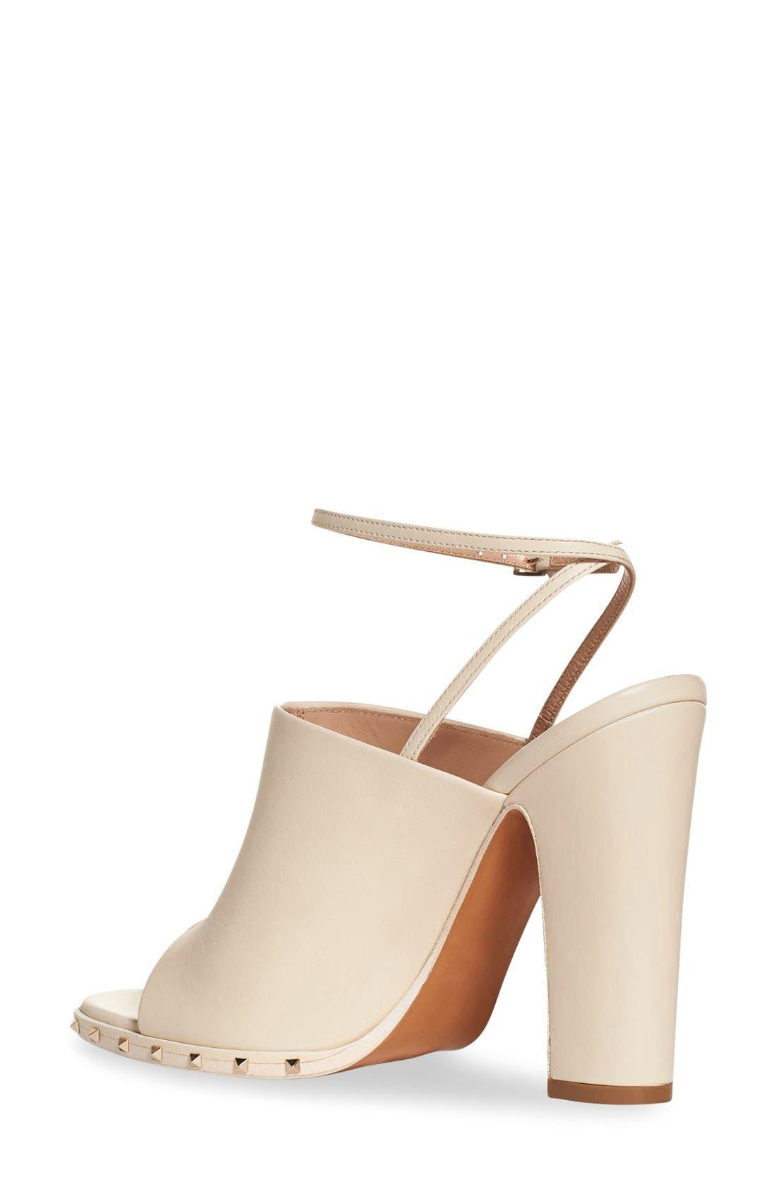 Alternate Image 2  - Valentino 'Soul Stud' Peep Toe Sandal (Women)