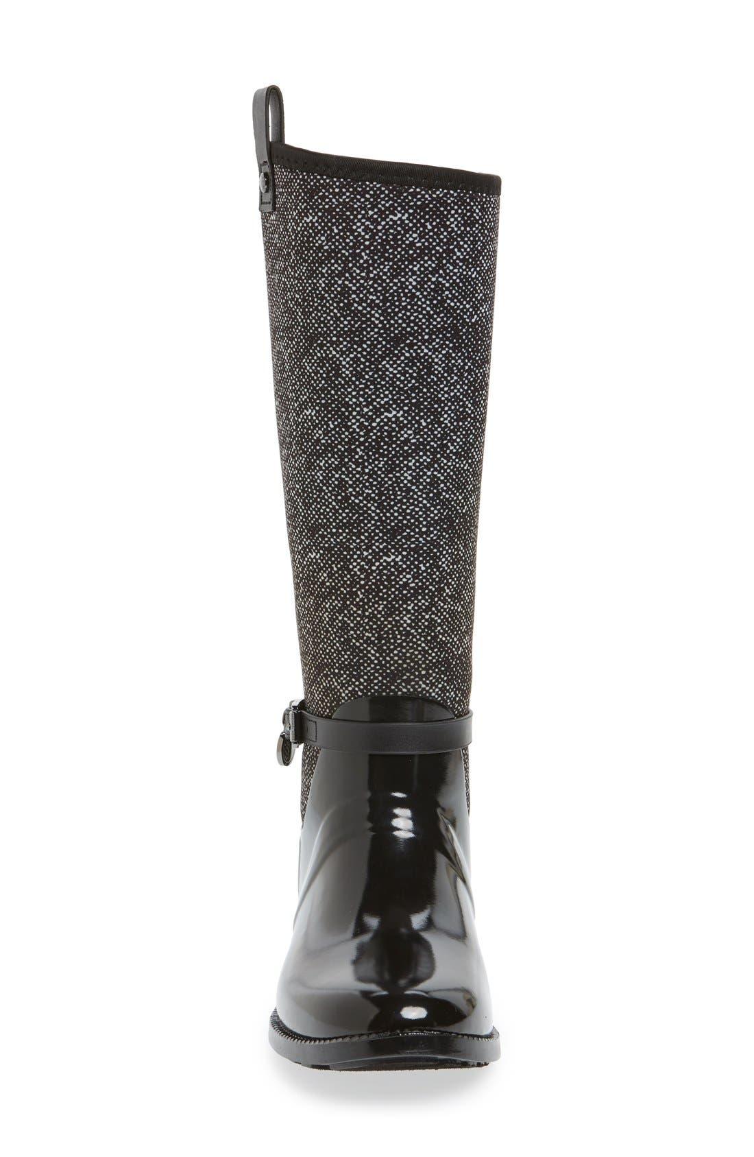 Alternate Image 3  - MICHAEL Michael Kors Charm Stretch Rain Boot (Women) (Nordstrom Exclusive)
