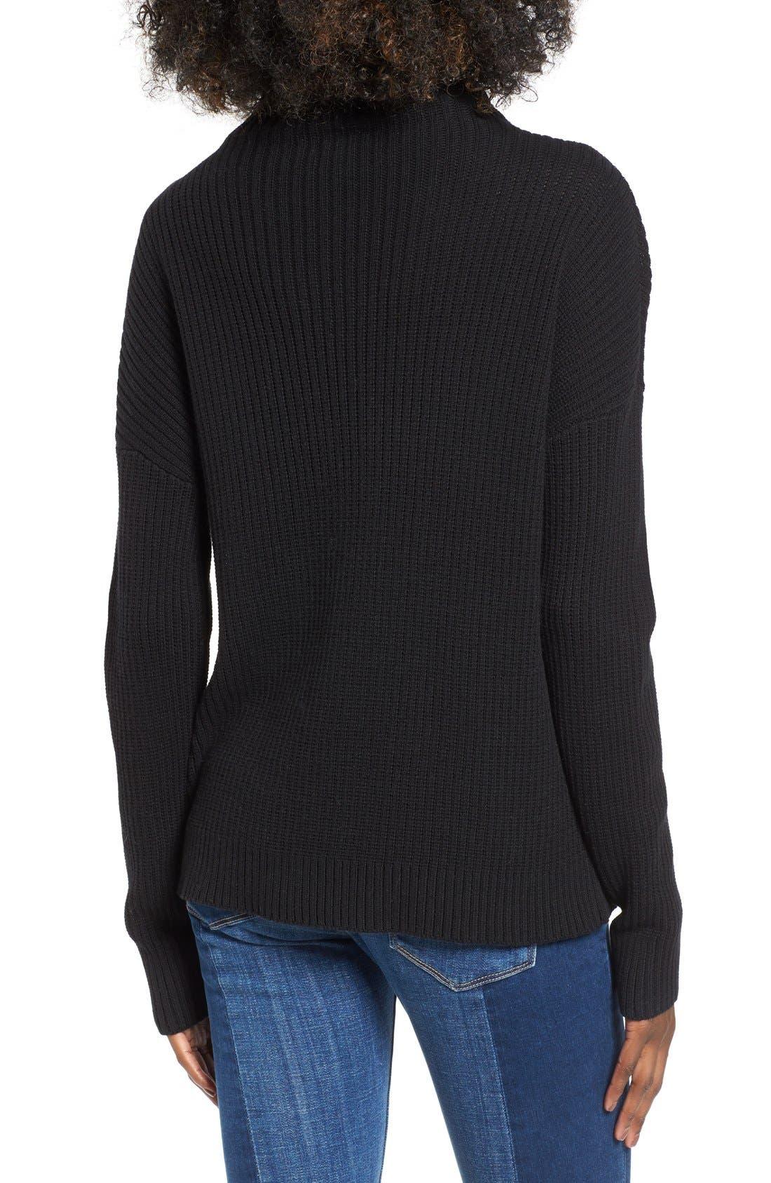 Alternate Image 2  - BP. Mock Neck Sweater