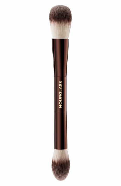 how to clean hourglass makeup brushes