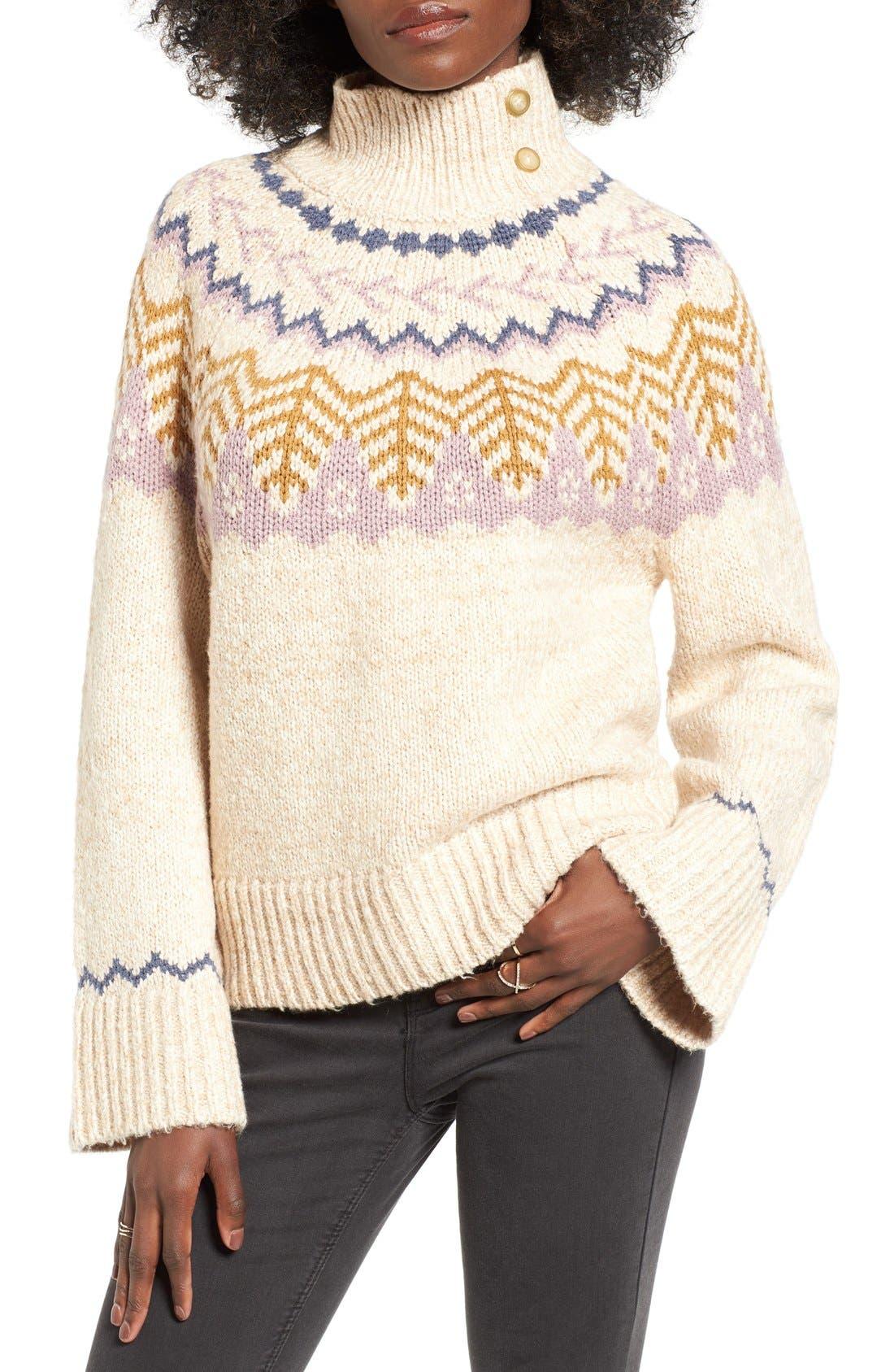 Alternate Image 1 Selected - BP. Fair Isle Knit Pullover