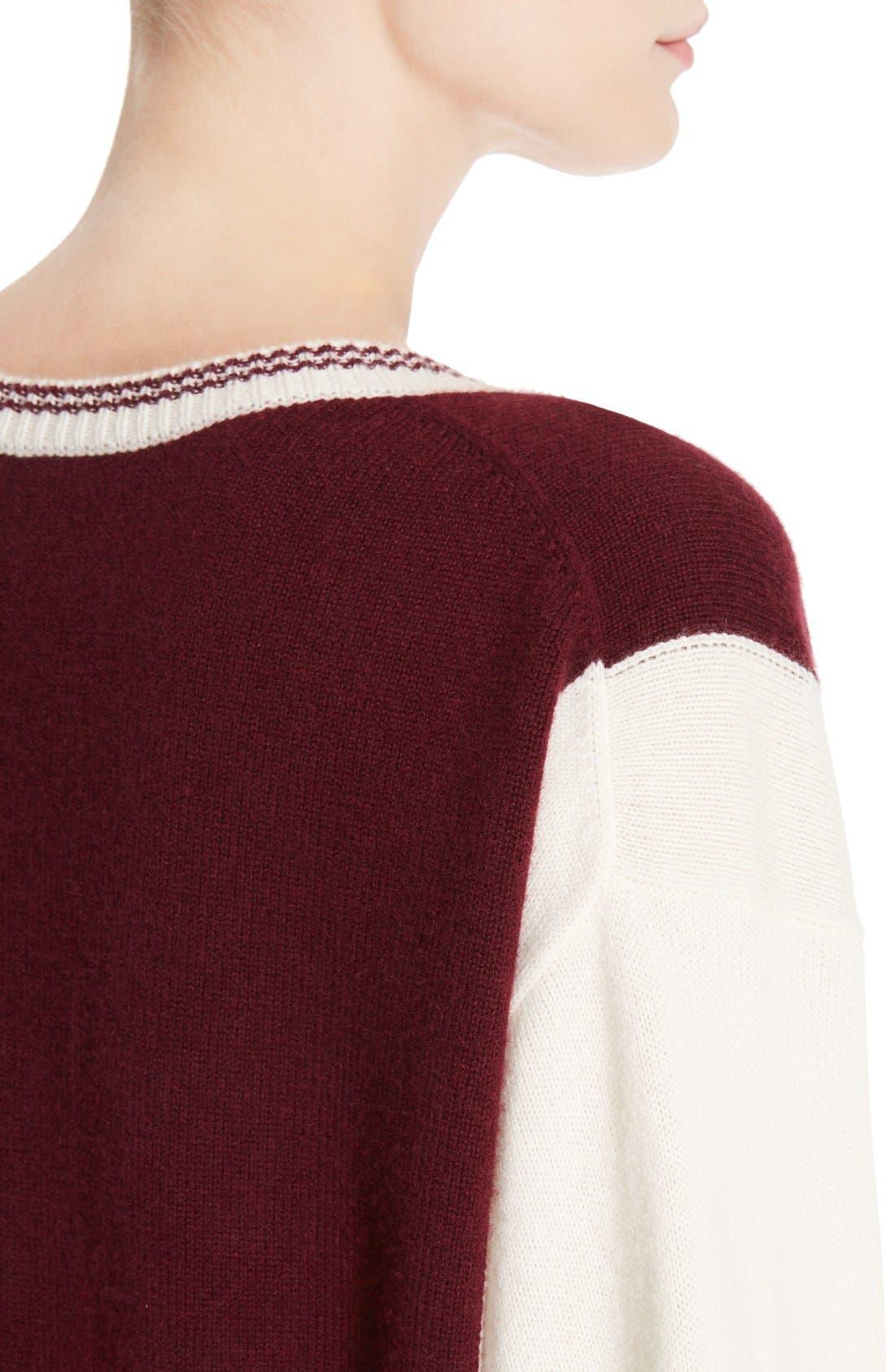 Alternate Image 6  - Chloé Bicolor Sweater