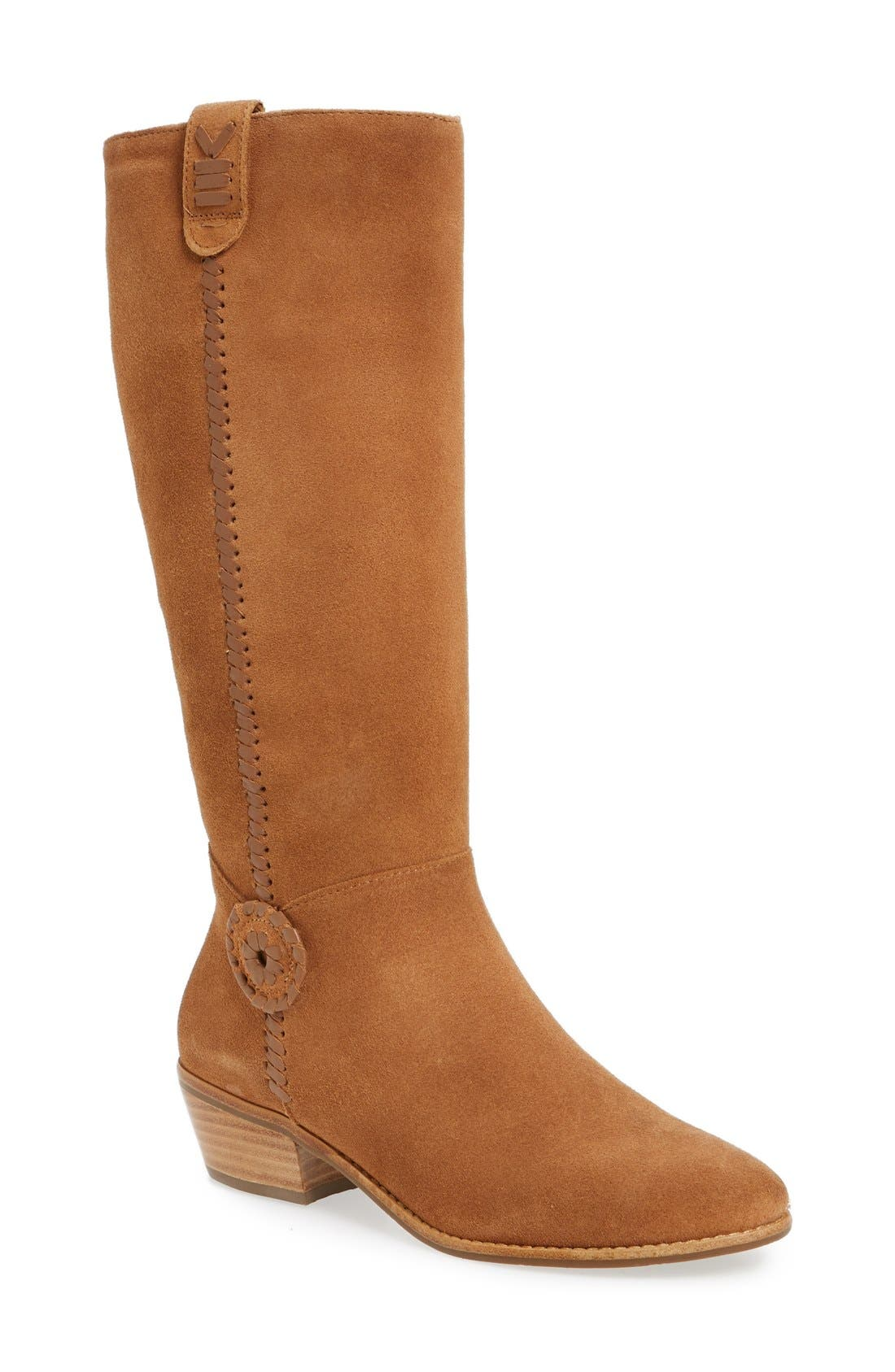 Alternate Image 1 Selected - Jack Rogers Sawyer Tall Riding Boot (Women)
