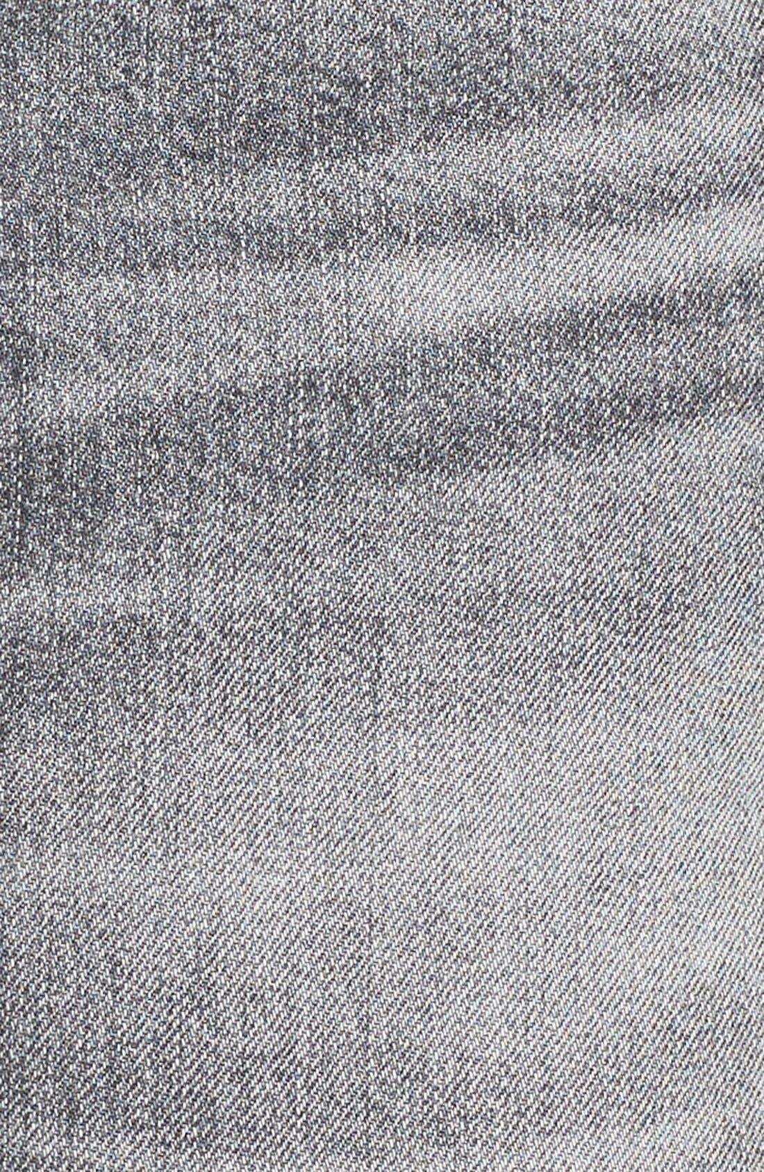 Alternate Image 6  - AGOLDE Jeanette Denim Miniskirt