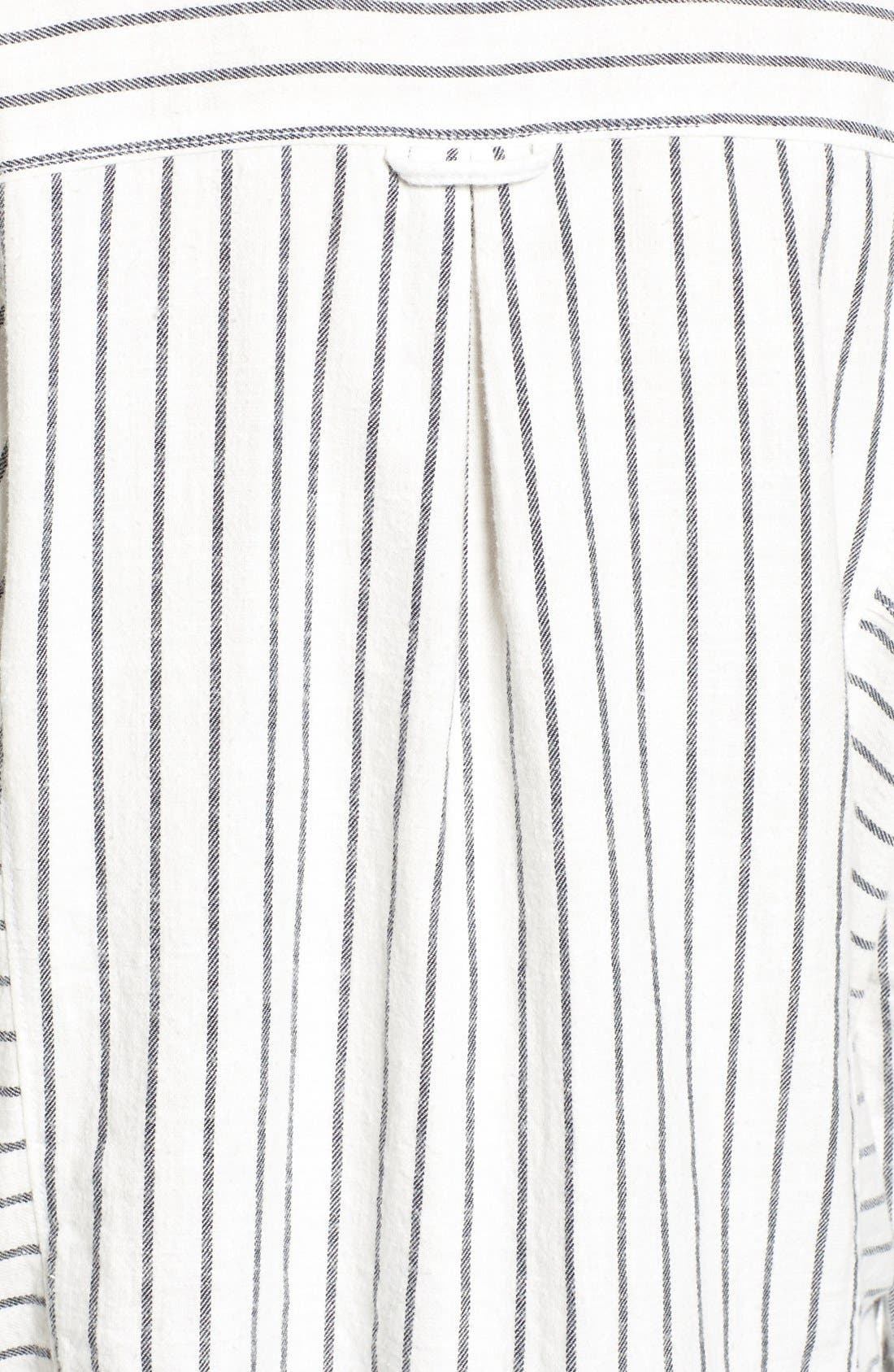 Alternate Image 5  - BP. Stripe Flannel Shirt