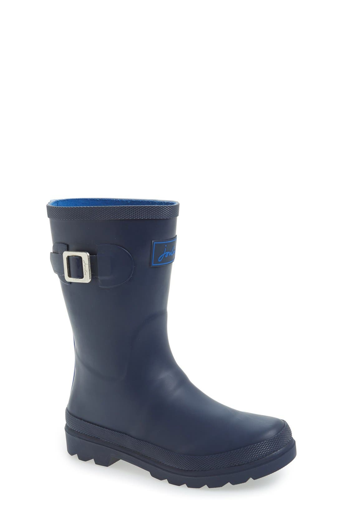 Joules 'Field Welly' Rain Boot (Walker, Toddler, Little Kid & Big Kid)