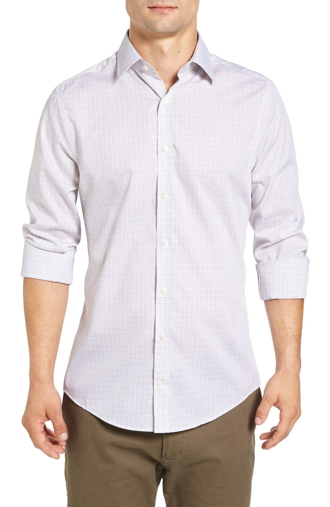 Gant 'Royal Oxford' Extra Trim Fit Tattersall Sport Shirt