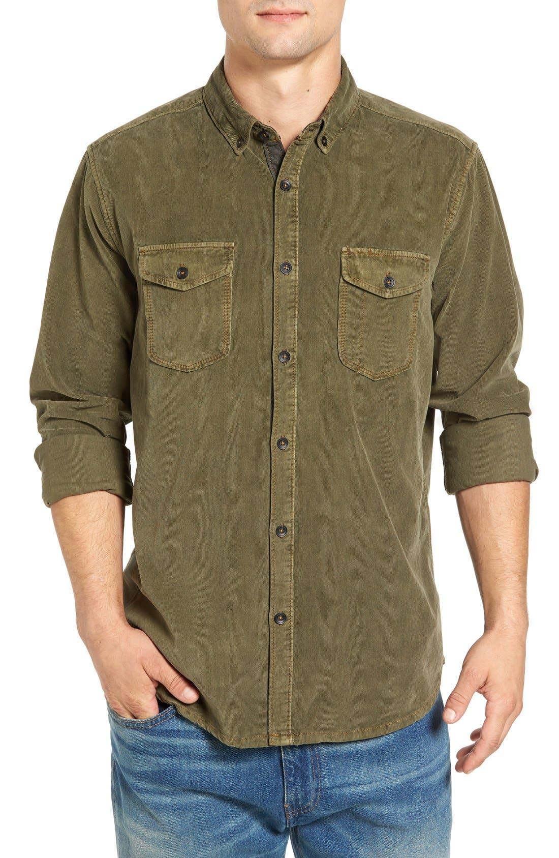 Jeremiah 'Jaymes' Pigment Dyed Corduroy Shirt
