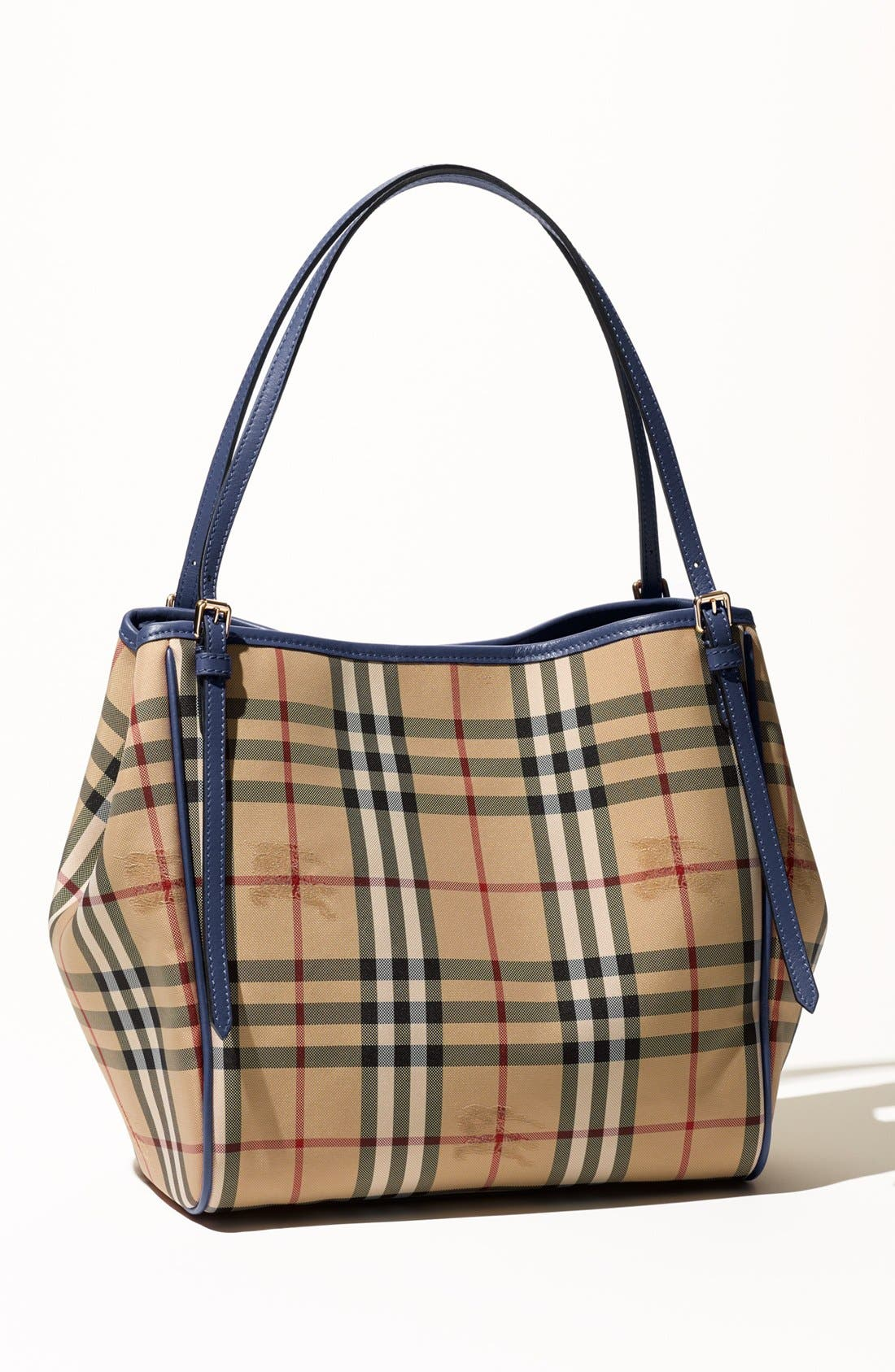 Alternate Image 7  - Burberry Small Canter Horseferry Check Tote