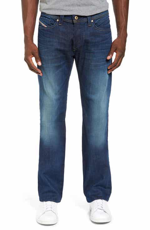 DIESEL Viker Straight Leg Jeans (U824)