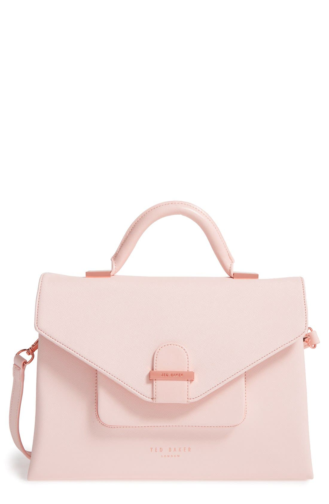 Main Image - Ted Baker London Faux Leather Satchel (Nordstrom Exclusive)