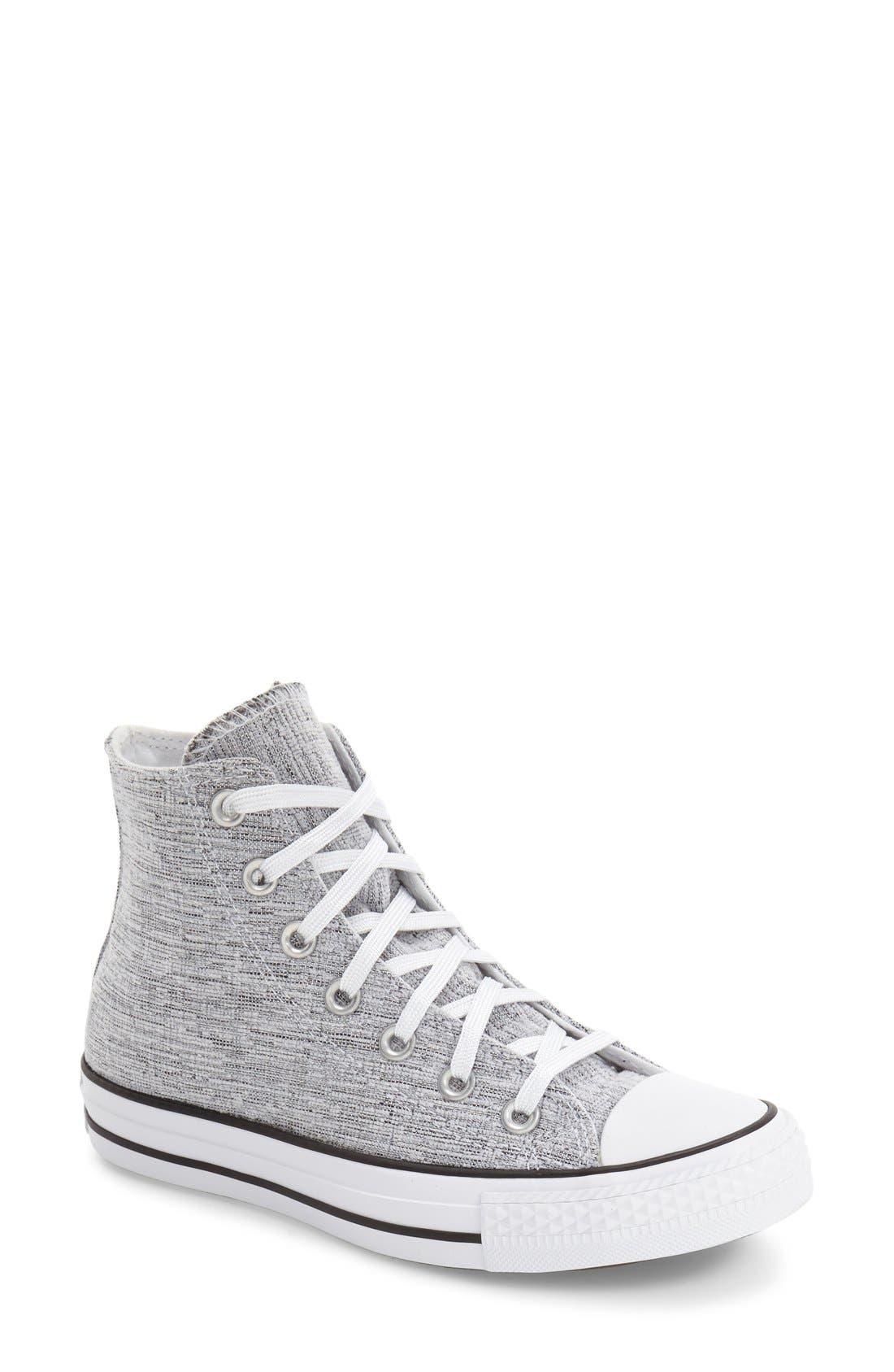 Main Image - Converse Chuck Taylor® All Star® Knit High Top Sneaker (Women)
