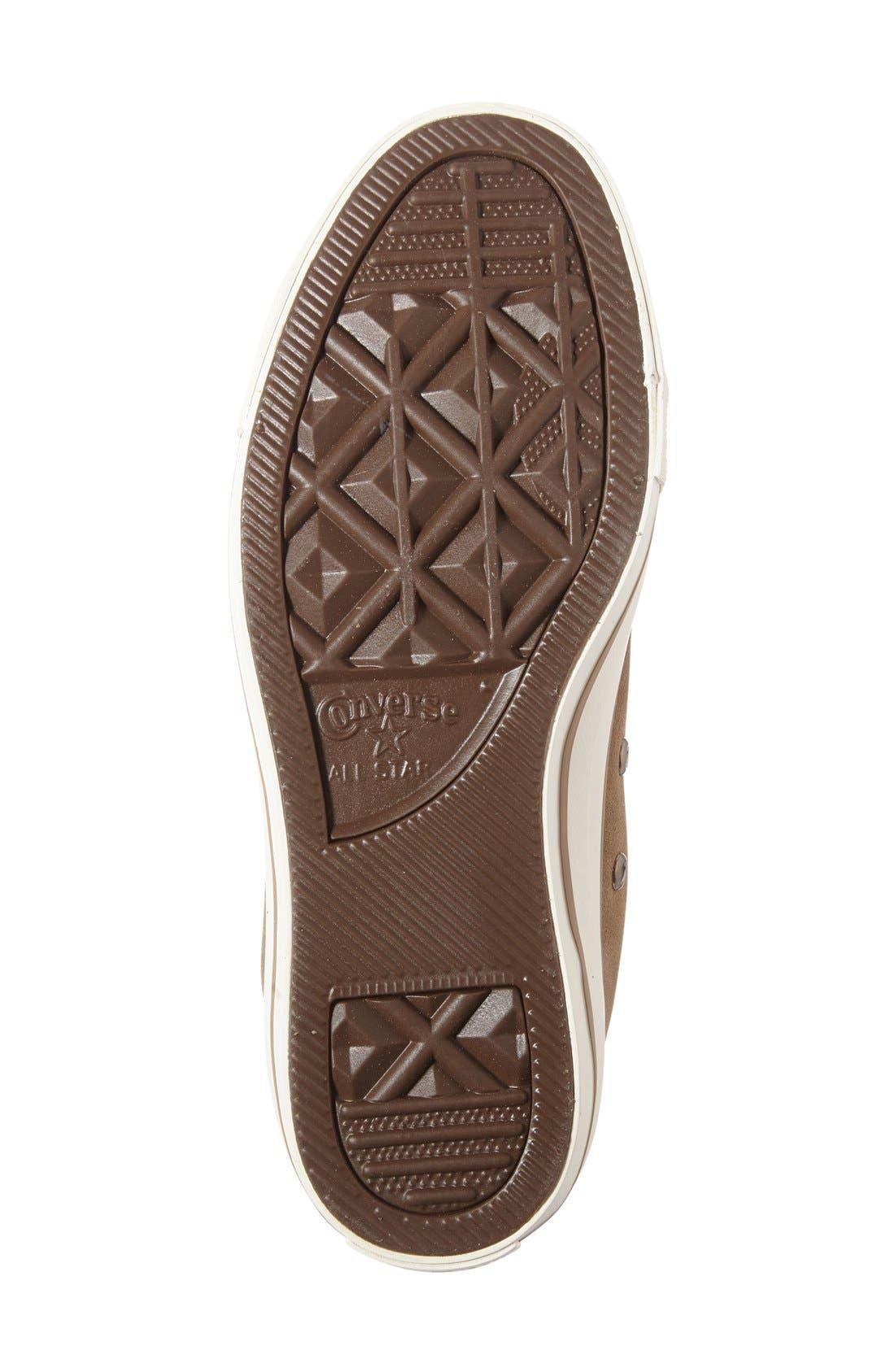 Alternate Image 4  - Converse Chuck Taylor® All Star® High-Rise Sneaker (Women)