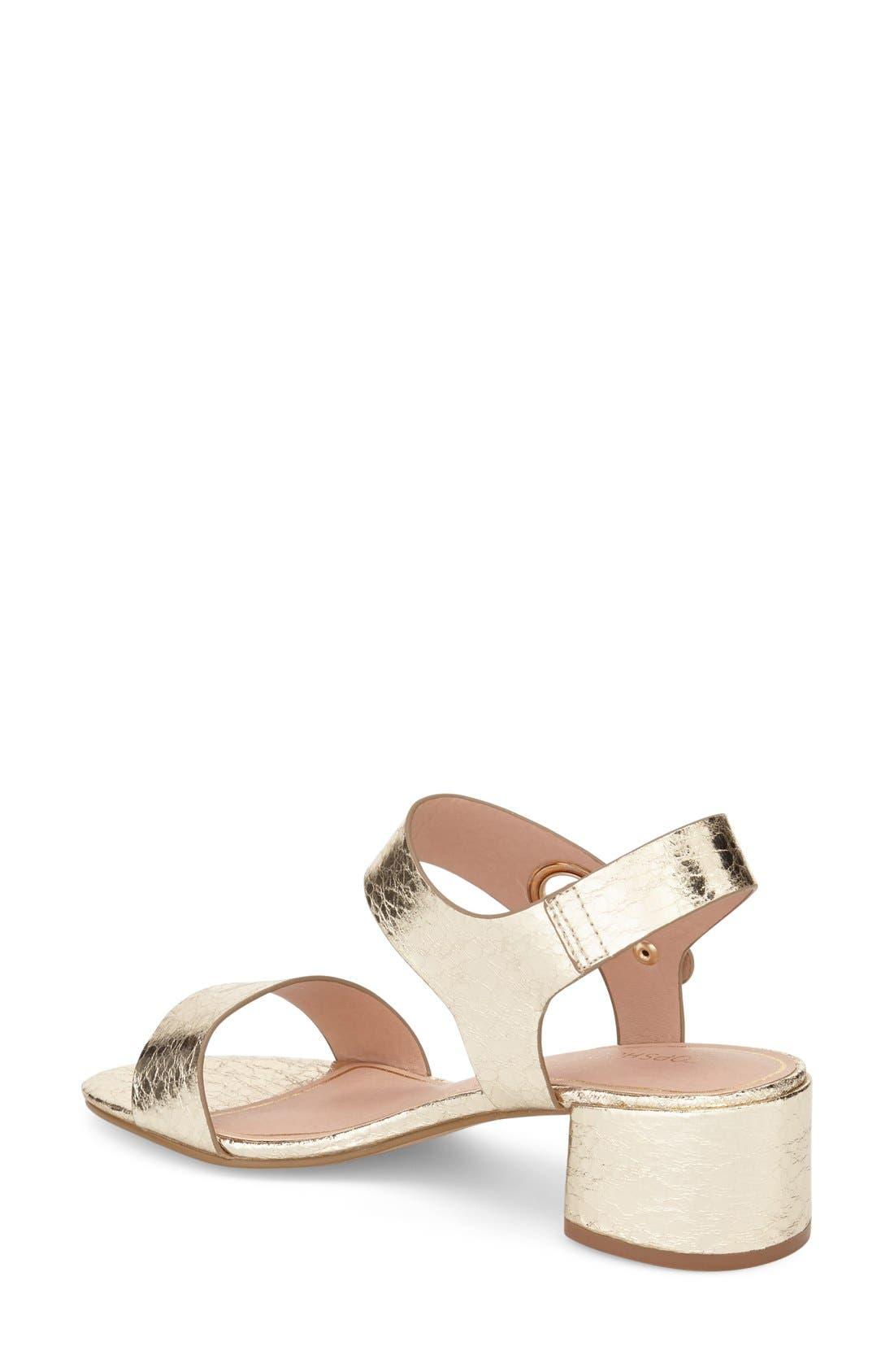 Alternate Image 2  - Topshop 'Dart' Block Heel Sandal (Women)