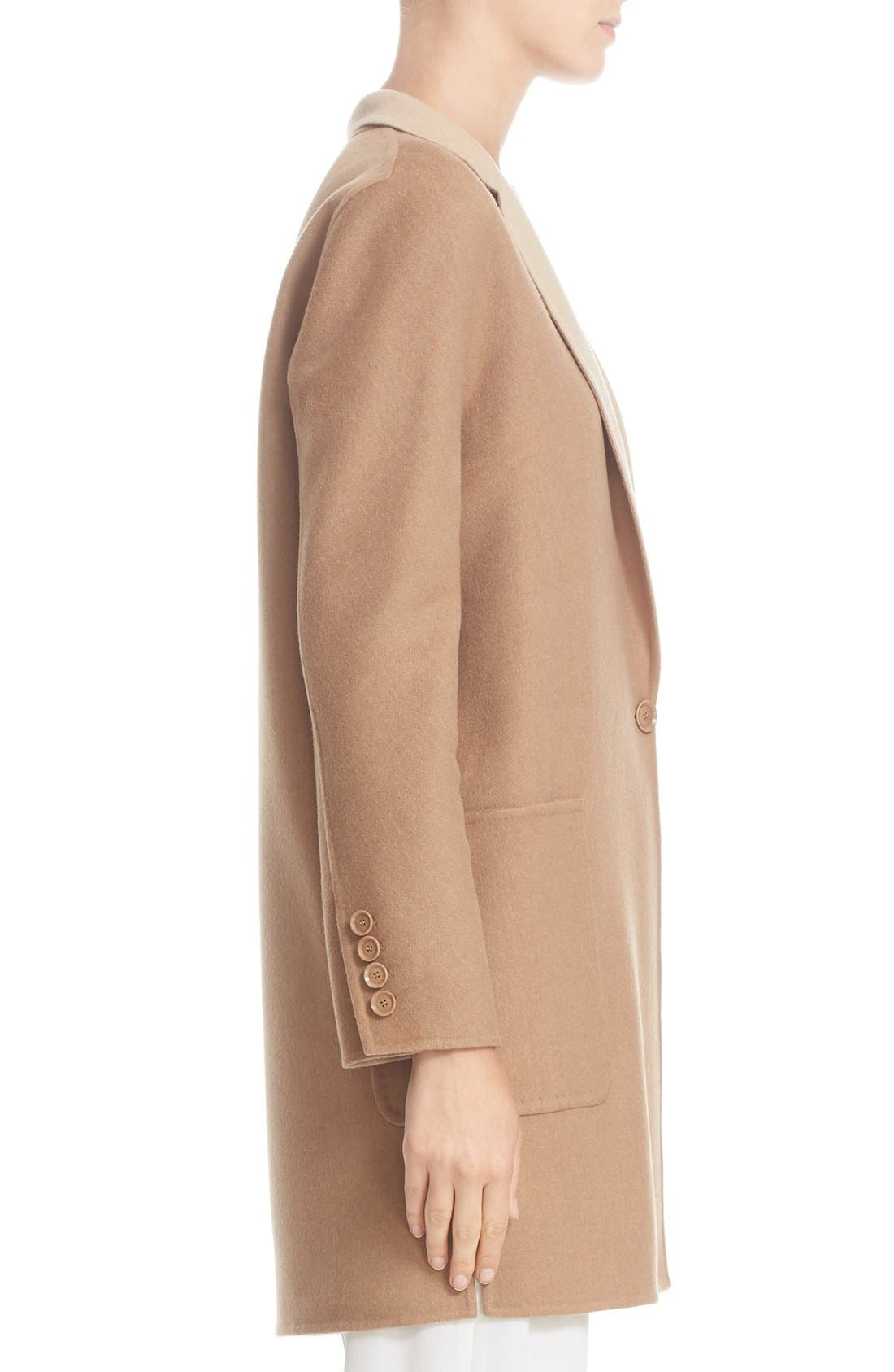 Alternate Image 5  - Max Mara Lillo Wool & Cashmere Bicolor Coat