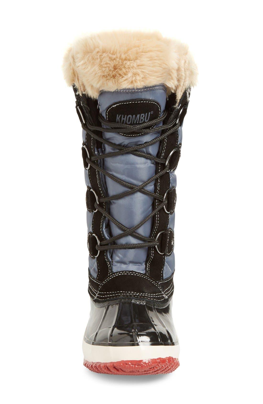 Alternate Image 3  - Khombu Andie Waterproof Boot (Women)