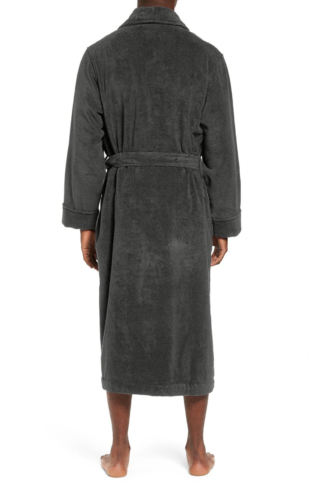 Alternate Image 2  - Nordstrom Hydro Cotton Terry Robe