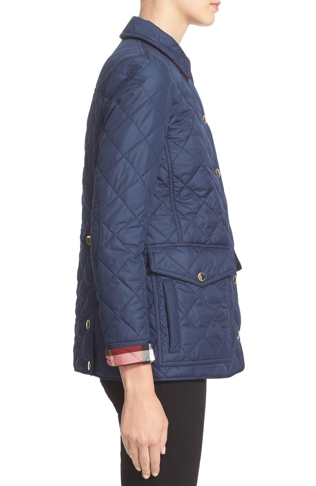 Alternate Image 5  - Burberry Westbridge Quilted Jacket