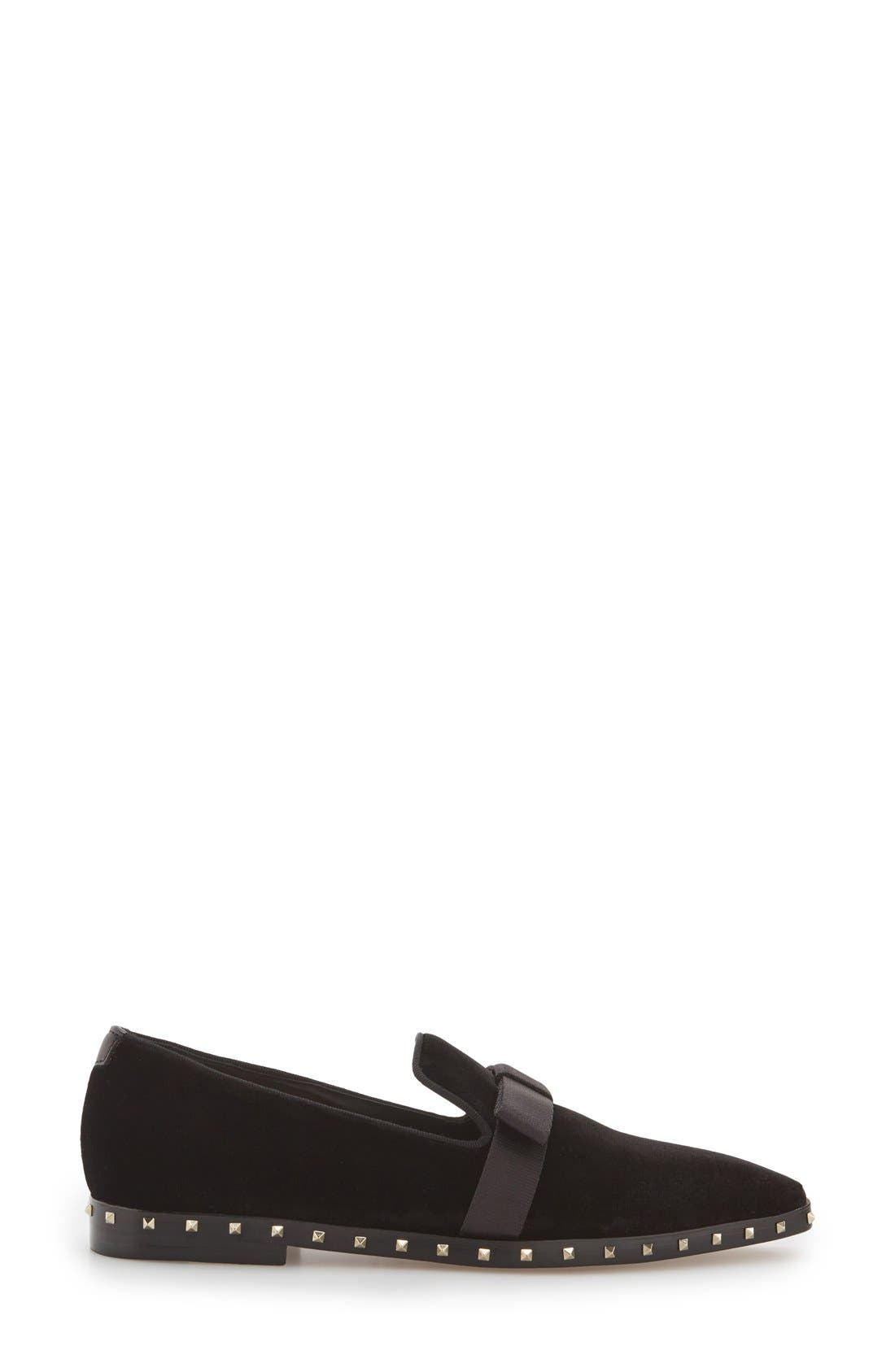 Alternate Image 4  - Valentino Studded Soul Loafer (Women)