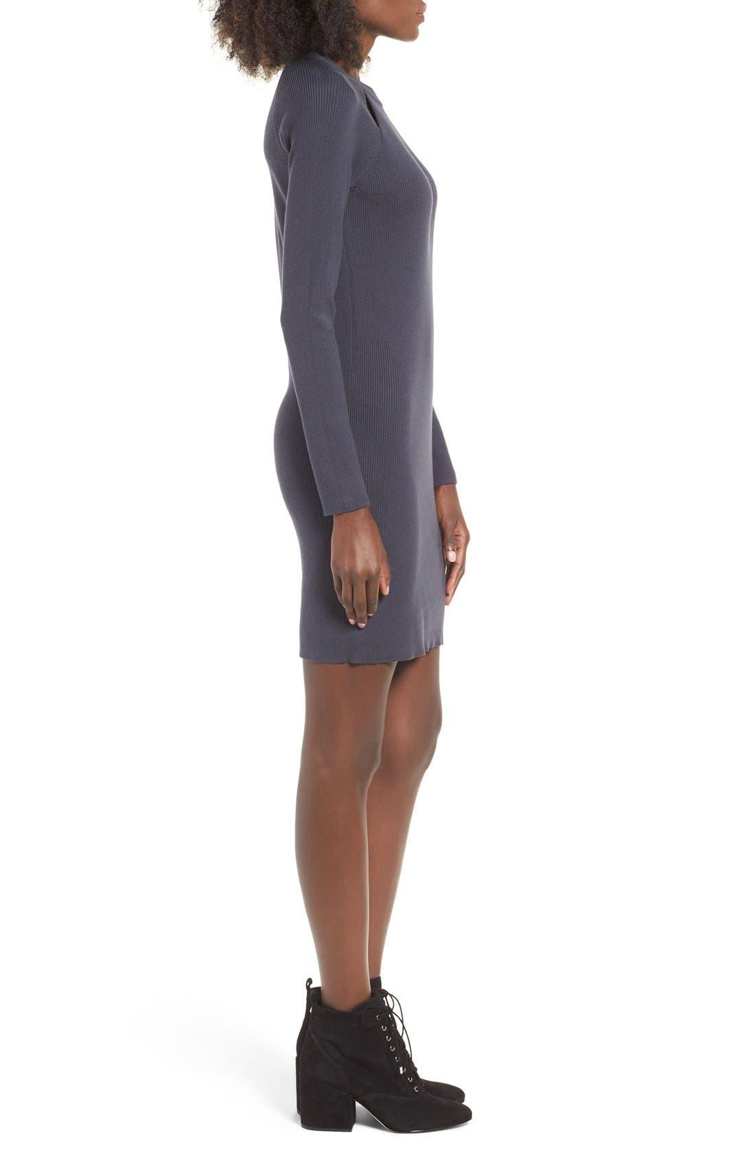 Alternate Image 3  - BP. Cutout Sweater Dress