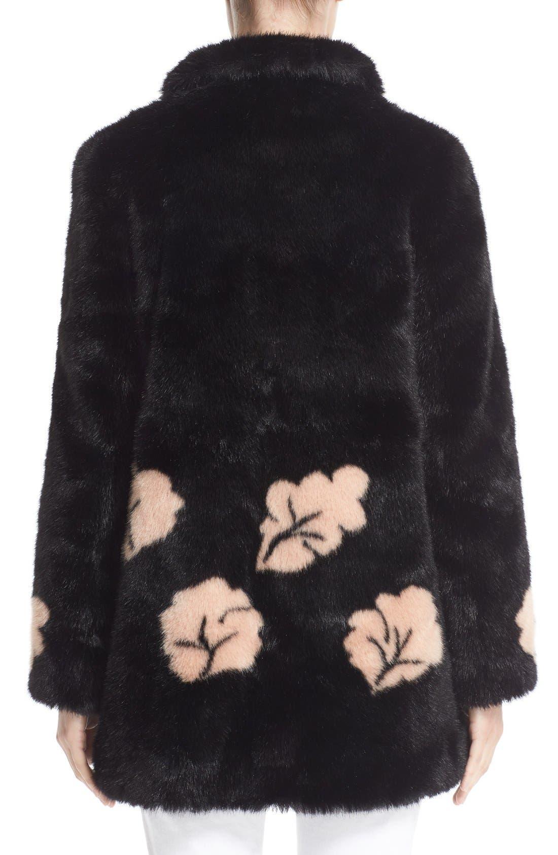 Alternate Image 2  - Shrimps Margery Faux Fur Coat