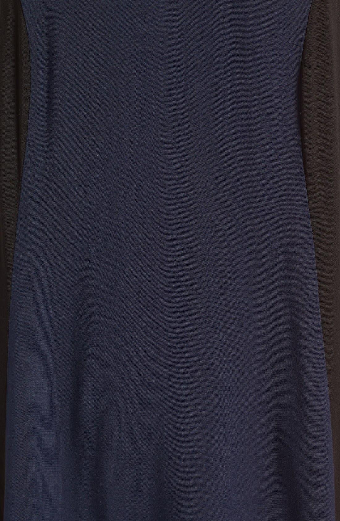 Alternate Image 5  - Mimi Chica Colorblock Strappy Shift Dress