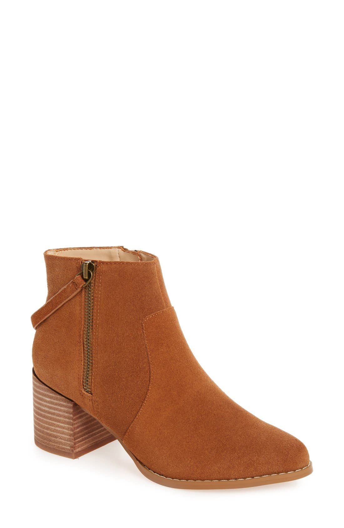 Alternate Image 1 Selected - Sole Society Everleigh Bootie (Women)
