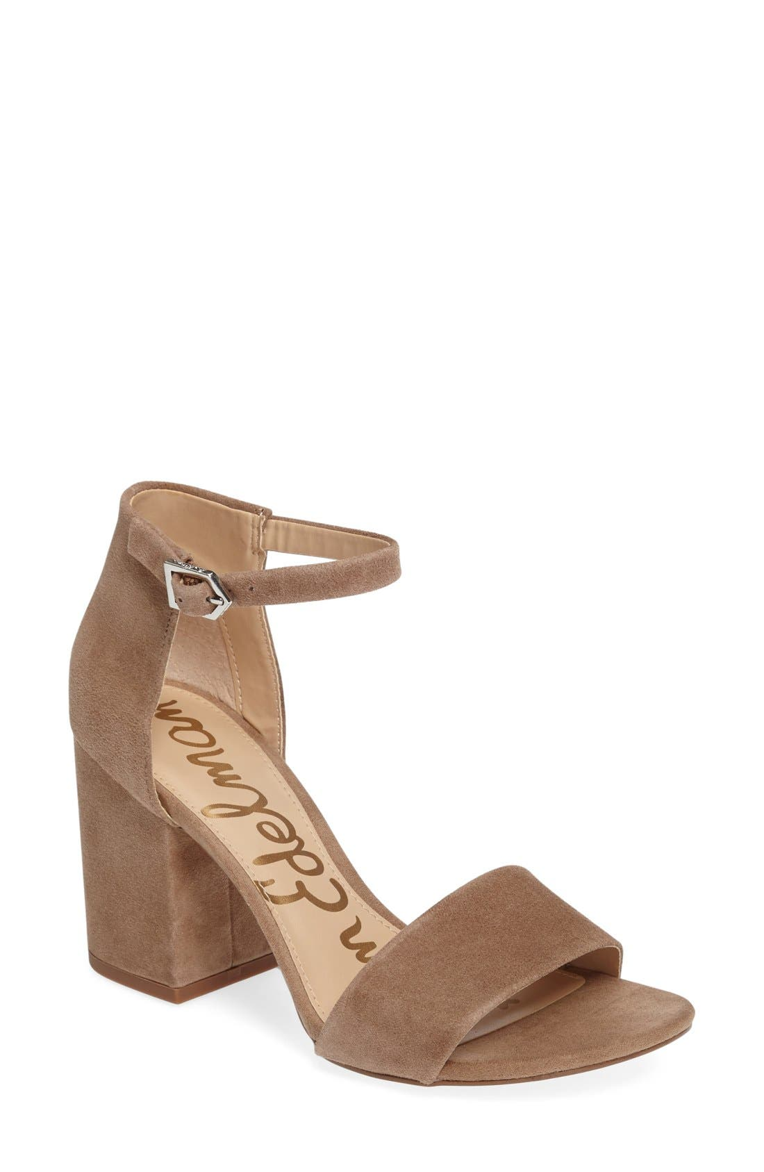 Alternate Image 1 Selected - Sam Edelman Torrence Ankle Strap Sandal (Women)